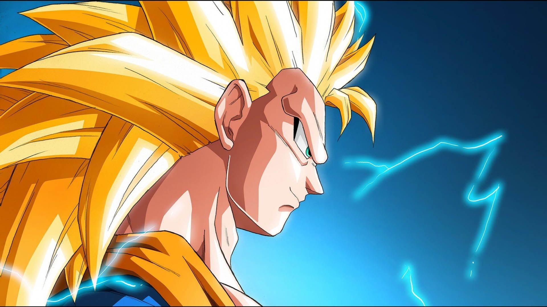 Son Goku Super Saiyan 3 – – Full HD 16/9 – Wallpaper .