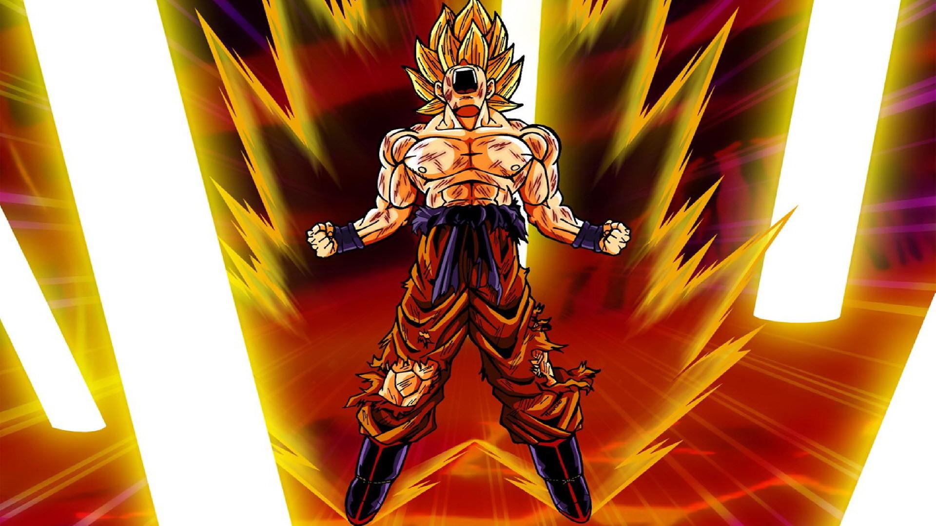 Скачать бесплатно Dragon Ball Z Wallpapers · Goku SuperSuper SaiyanThe …