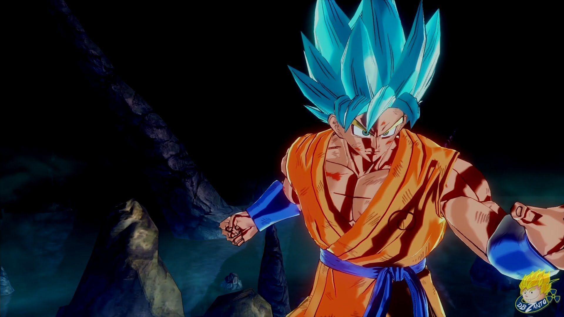 Dragon Ball Xenoverse (PS4): Super Saiyan God Super Saiyan Goku's .