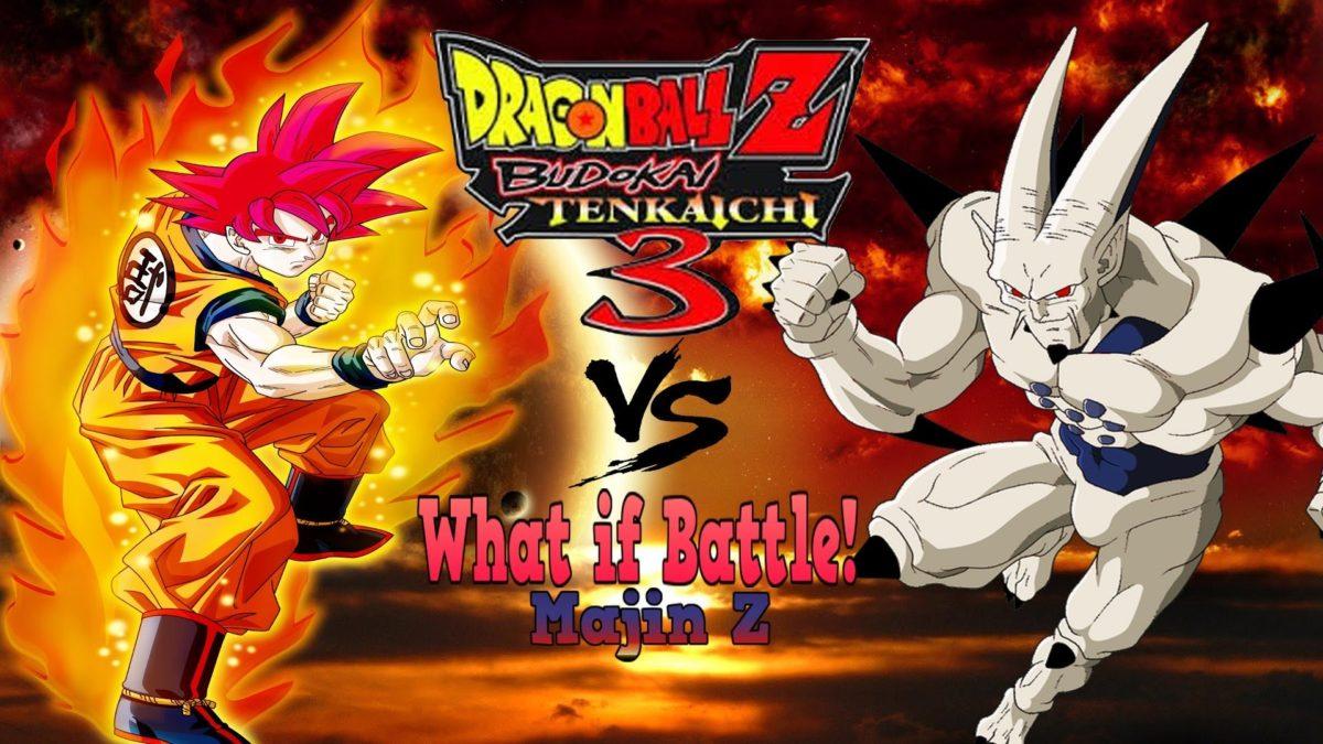 Goku Super Saiyan God Vs Omega Shenron Dragonball Z Budokai