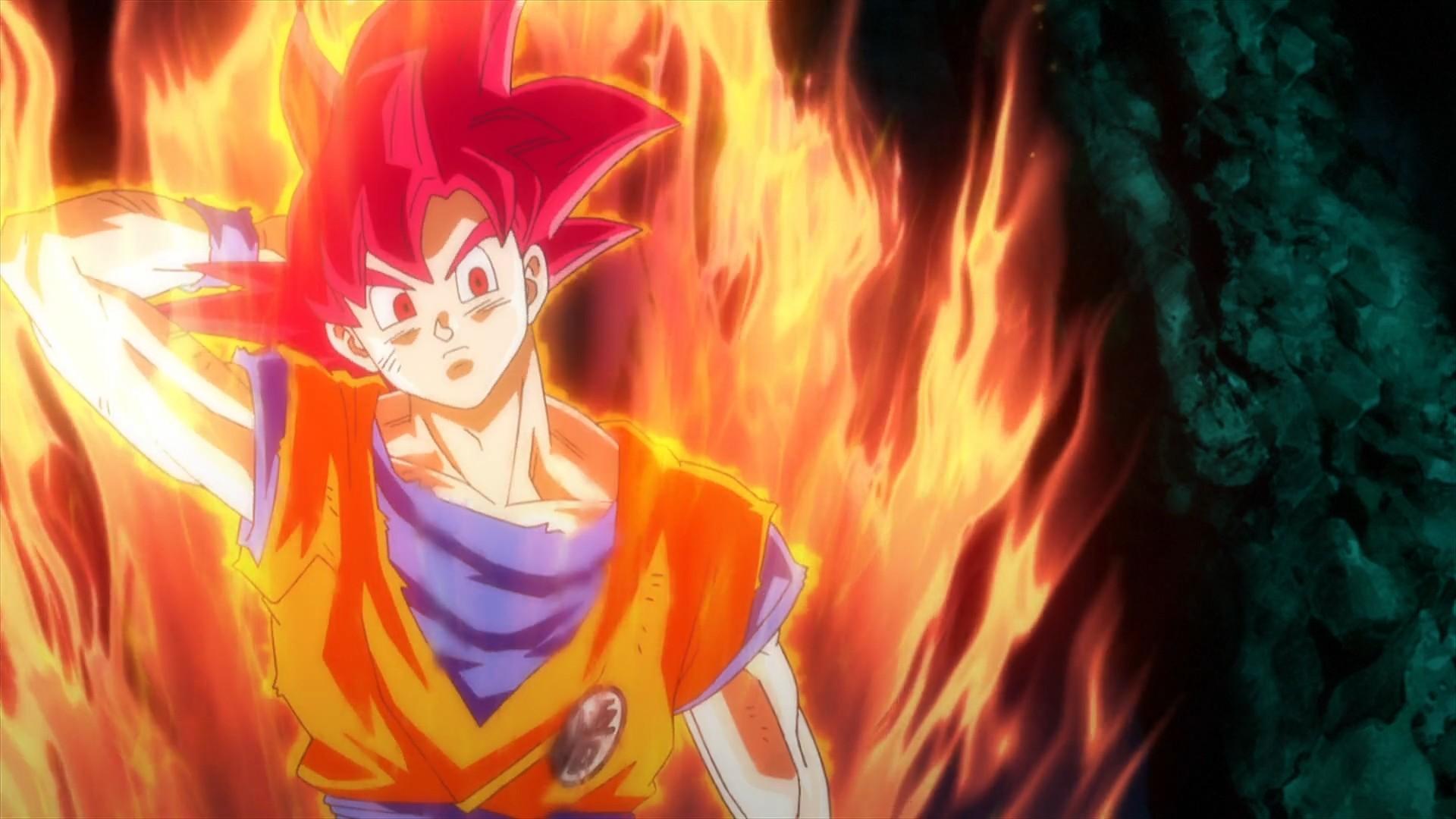 … son-goku-super-saiyan-god-dragon-ball-z- …
