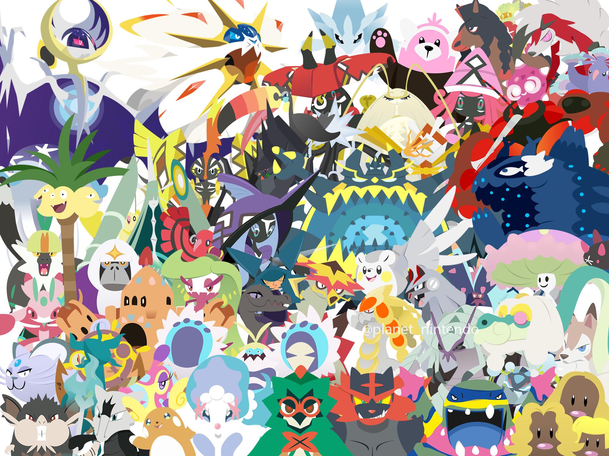 … Pokemon Sun and Moon Wallpaper by PlanetNintendo