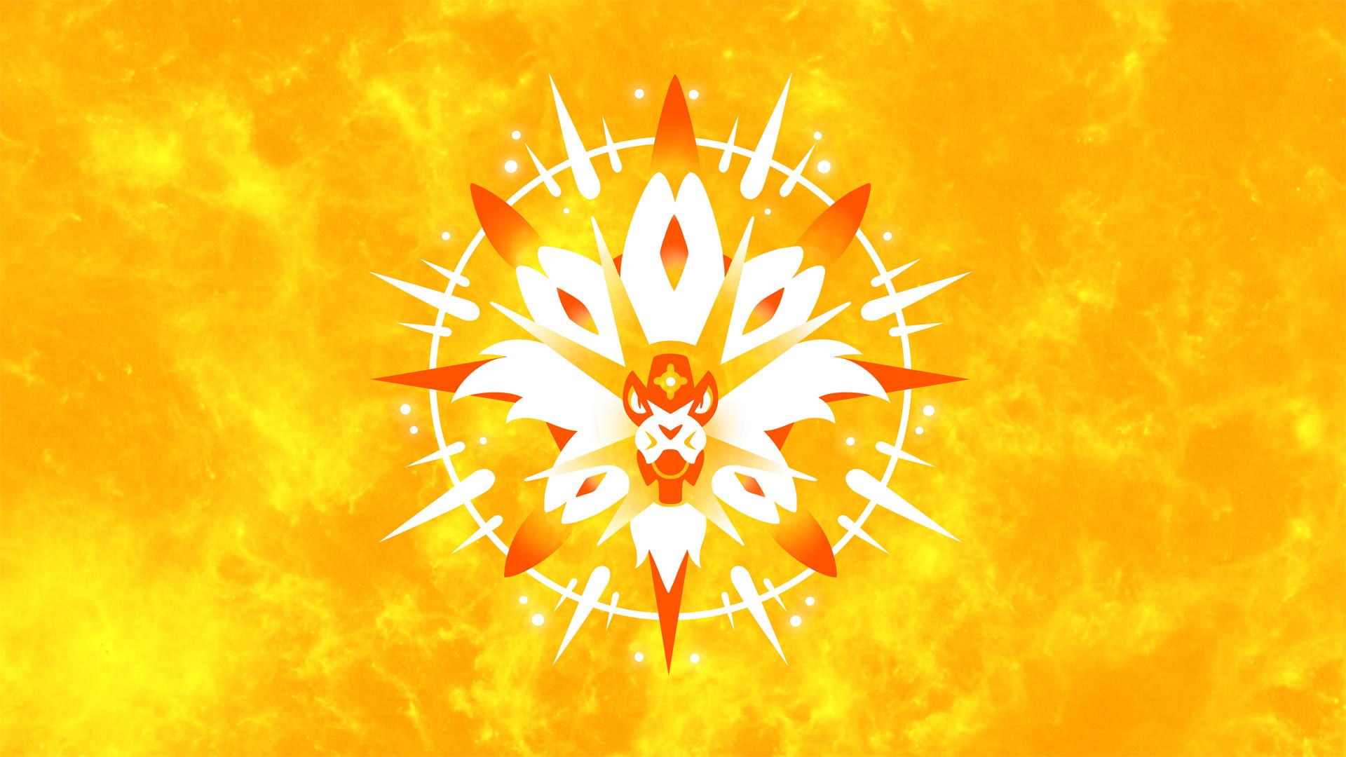 Video Game РPok̩mon Sun and Moon Solgaleo (Pok̩mon) Wallpaper