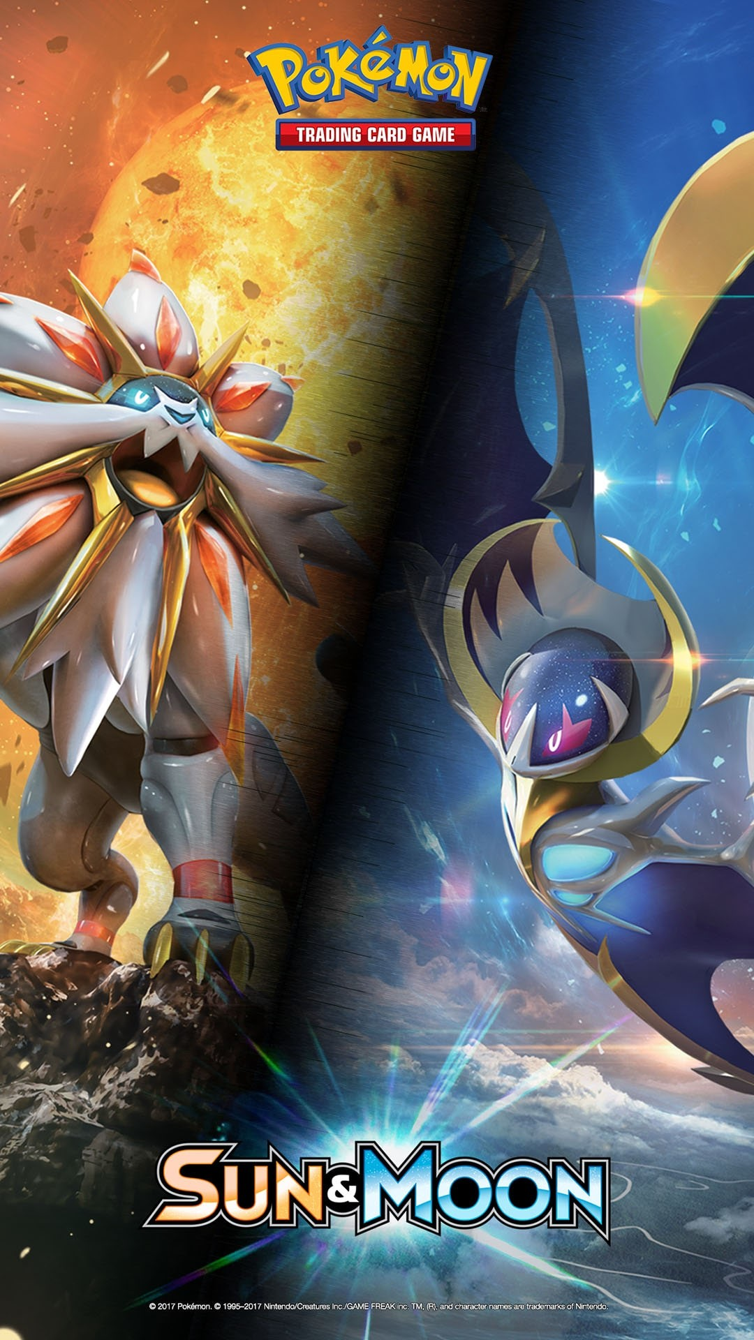 Download Sun & Moon wallpapers. Mobile