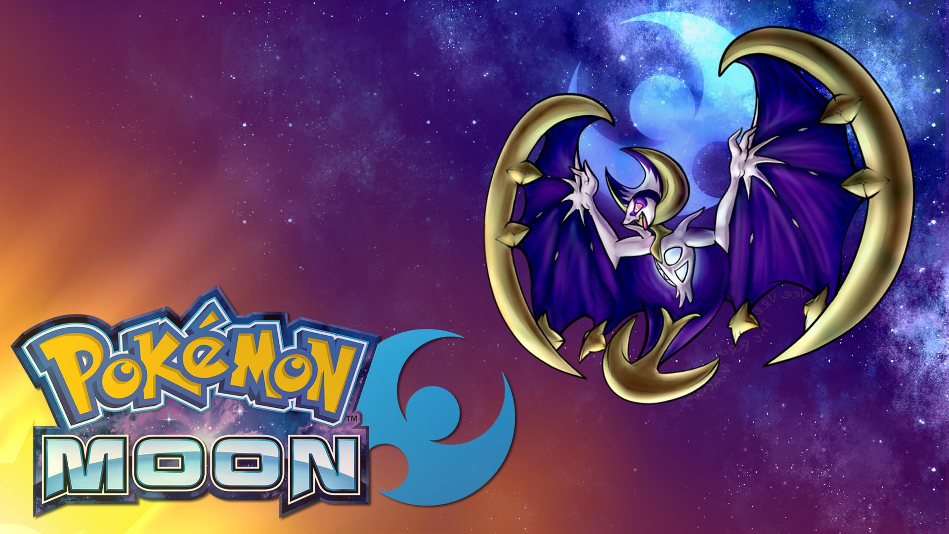 Pokemon Moon Legendary Wallpaper Full HD