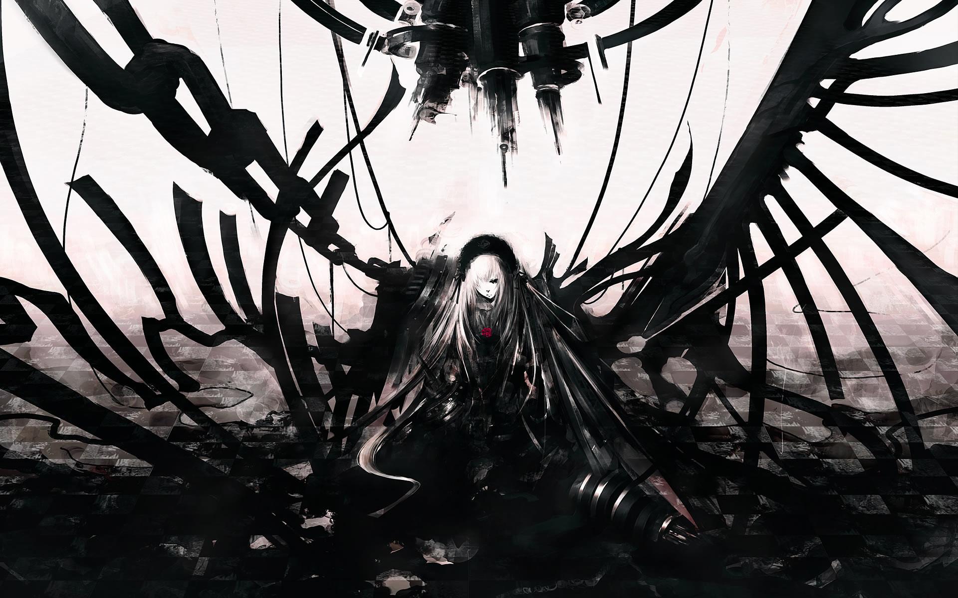 Dark Anime Art Of The Week Digital Paintings 350915 Wallpaper wallpaper :  anime art,wallpapers dark anime art,anime – Free desktop wallpapers, hd  wallpapers …