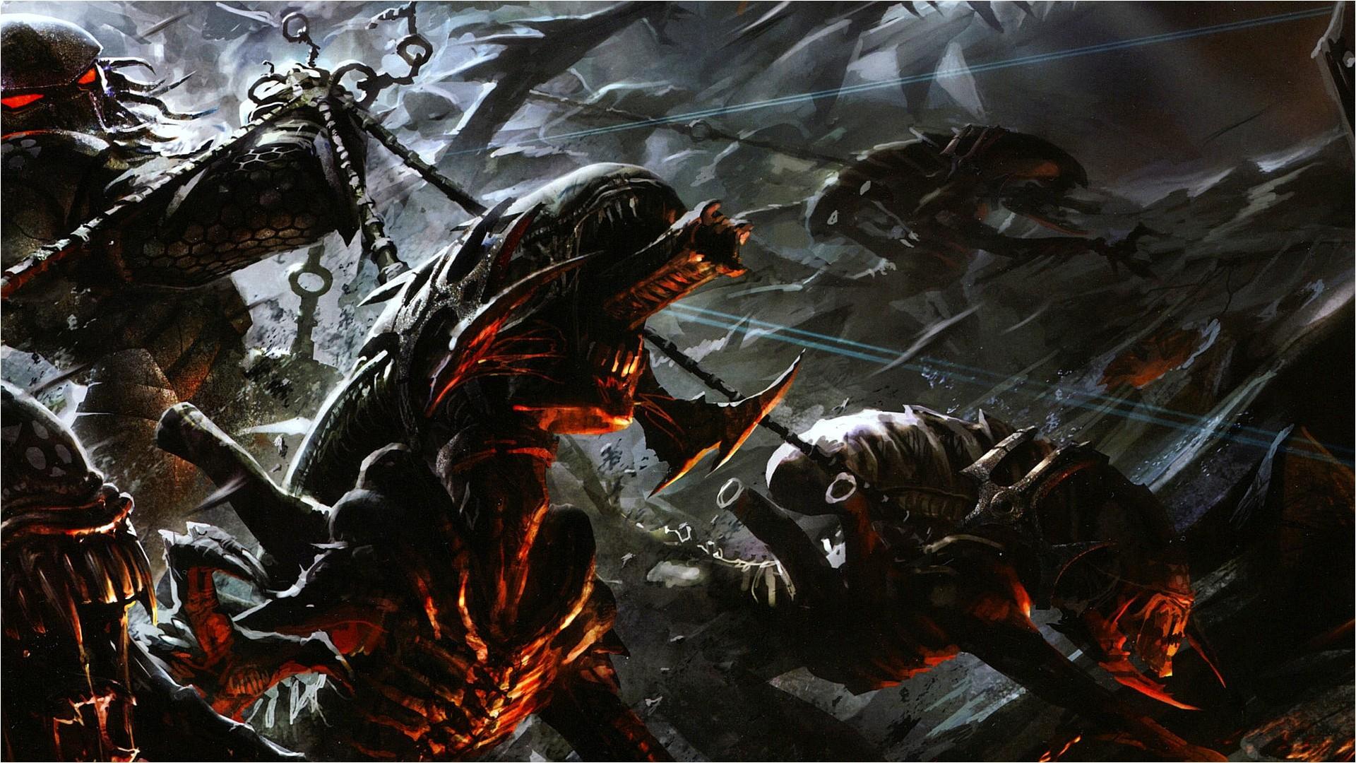 0 Alien Landscape Wallpaper Alien Vs Predator Game | wallpaper.