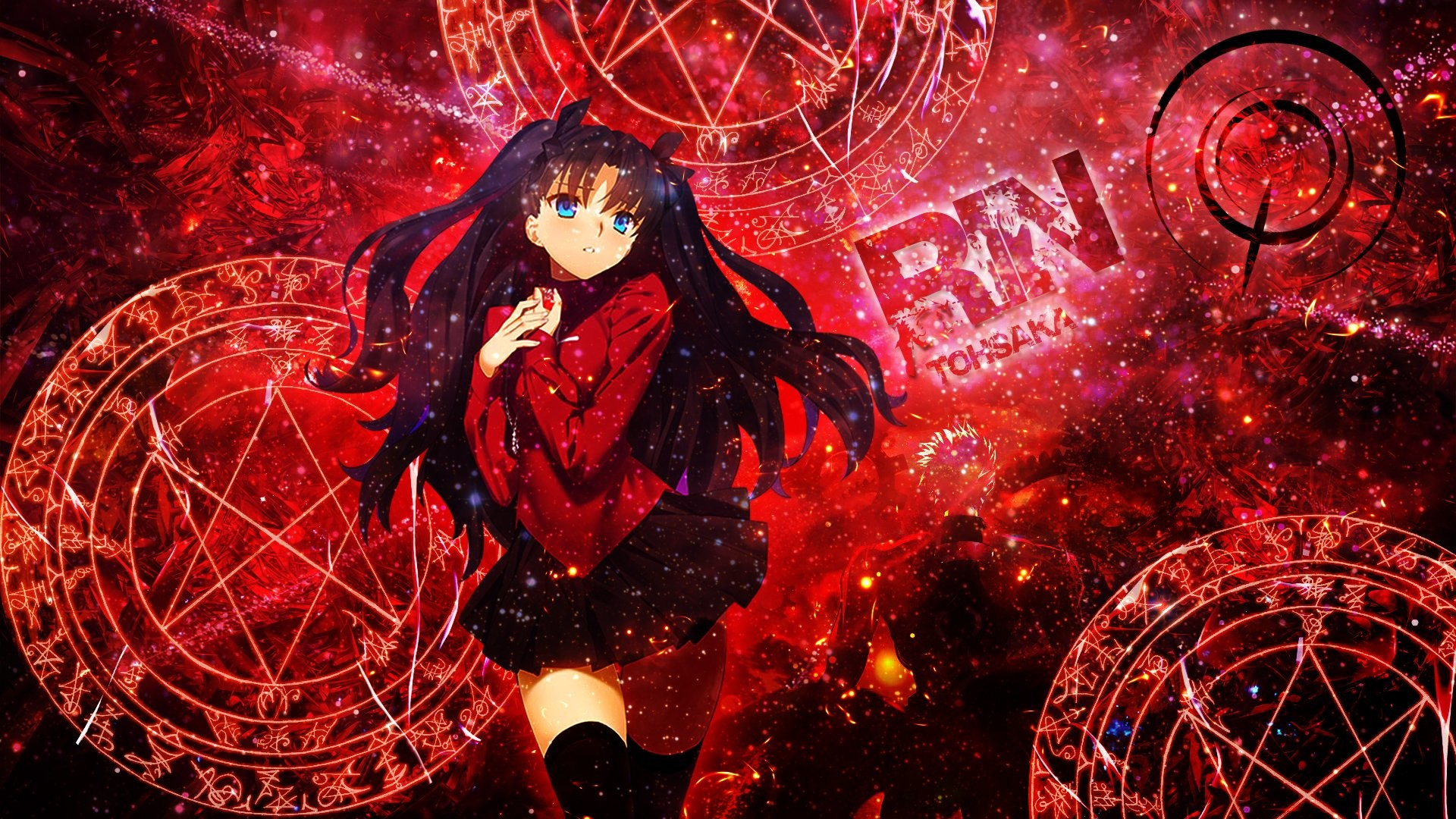 … Unlimited Blade Works Rin Tohsaka · HD Wallpaper | Background ID:629534
