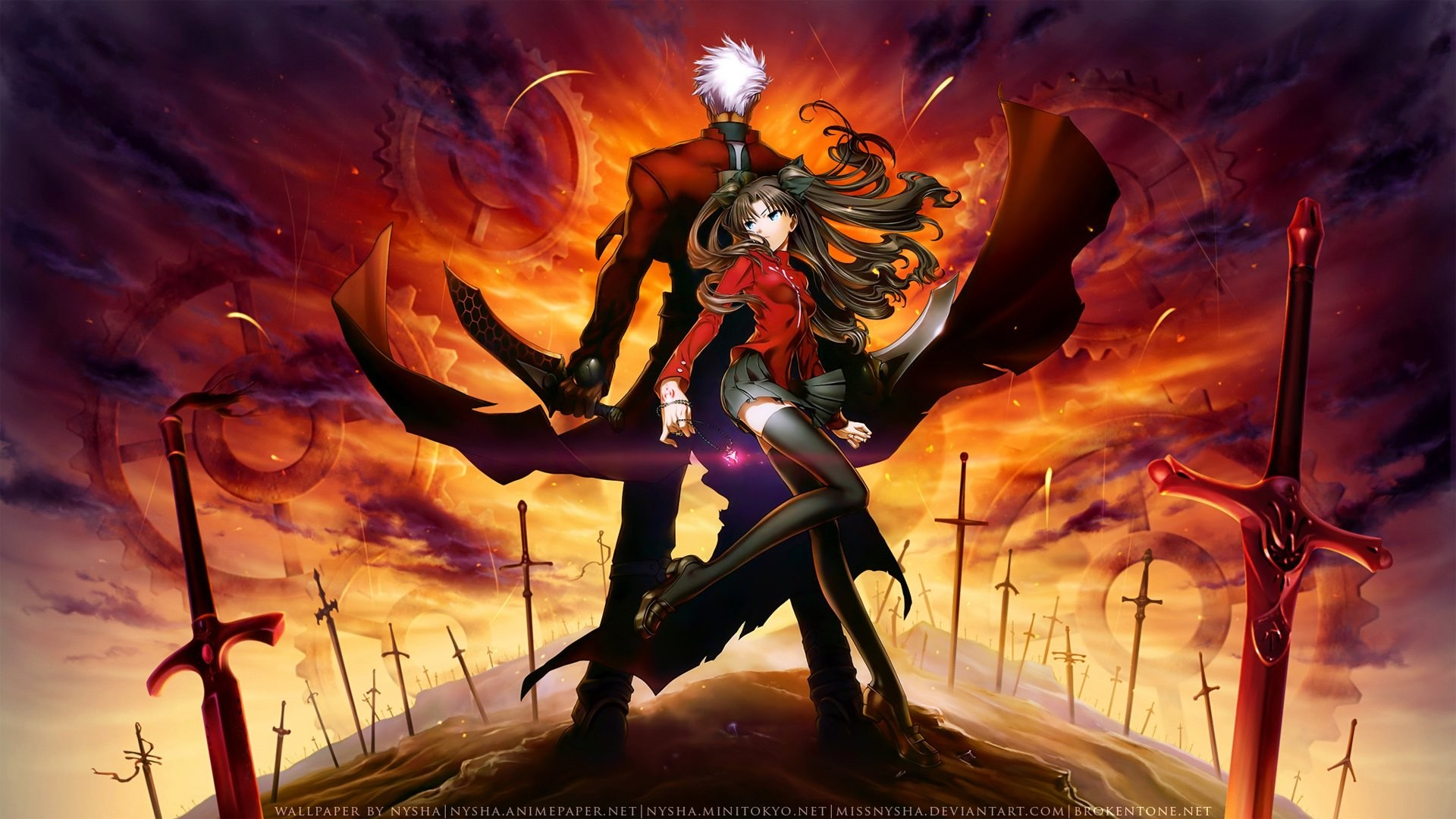 … wallpapers and backgrounds; fate stay night unlimited blade works  walldevil …