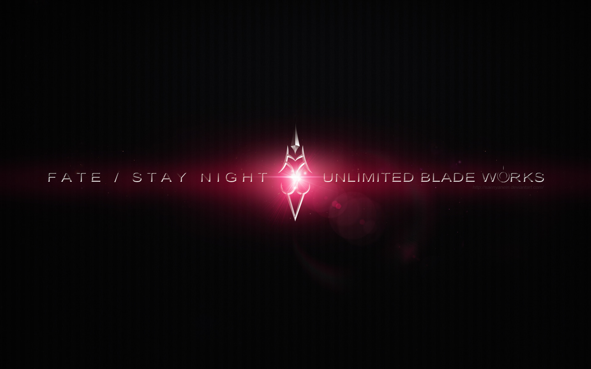 … Fate Stay Night Unlimited Blade Works Wallpaper by SaenyanEin