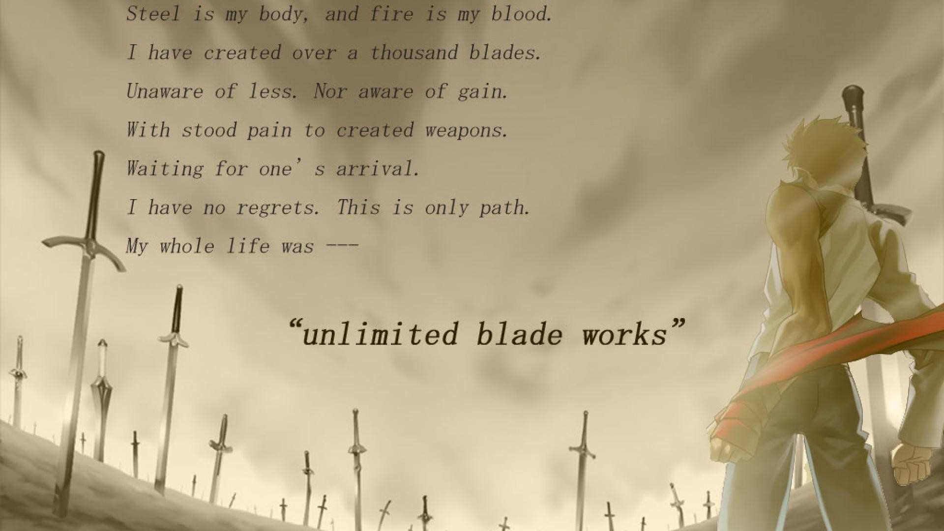 Fate Stay Night Unlimited Blade Works Wallpaper 16 Desktop Background. Fate  Stay Night Unlimited Blade Works Wallpaper 16 Desktop Background