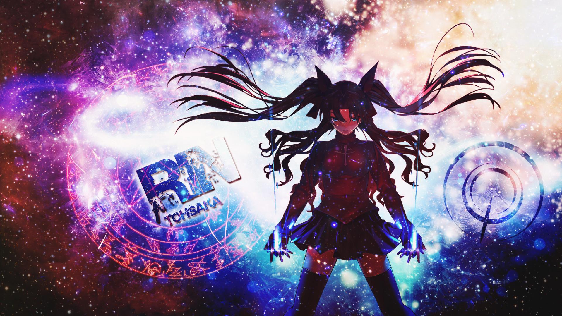 Anime – Fate/Stay Night: Unlimited Blade Works Rin Tohsaka Bakgrund