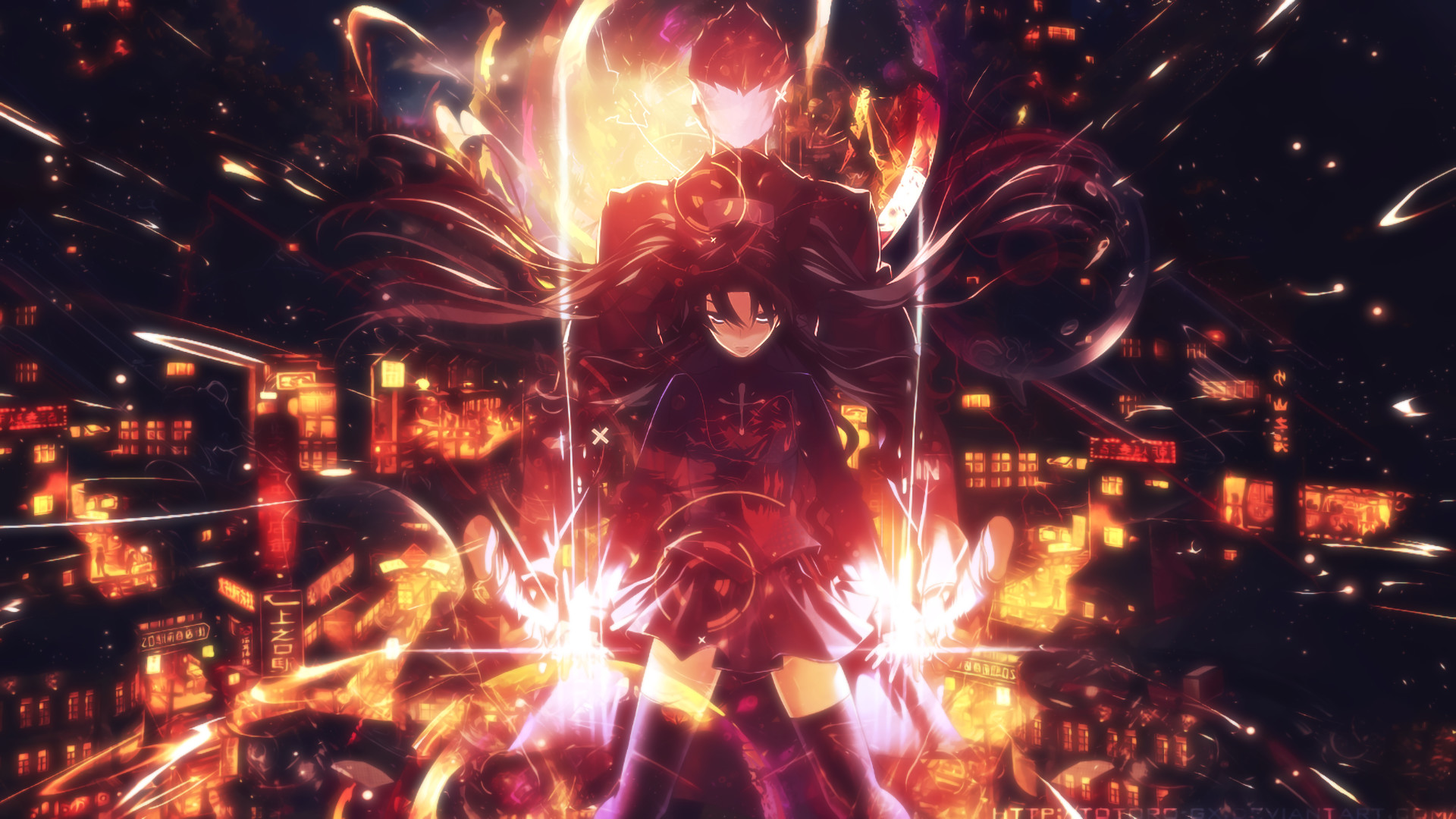 Anime – Fate/Stay Night: Unlimited Blade Works Rin Tohsaka Archer (Fate/