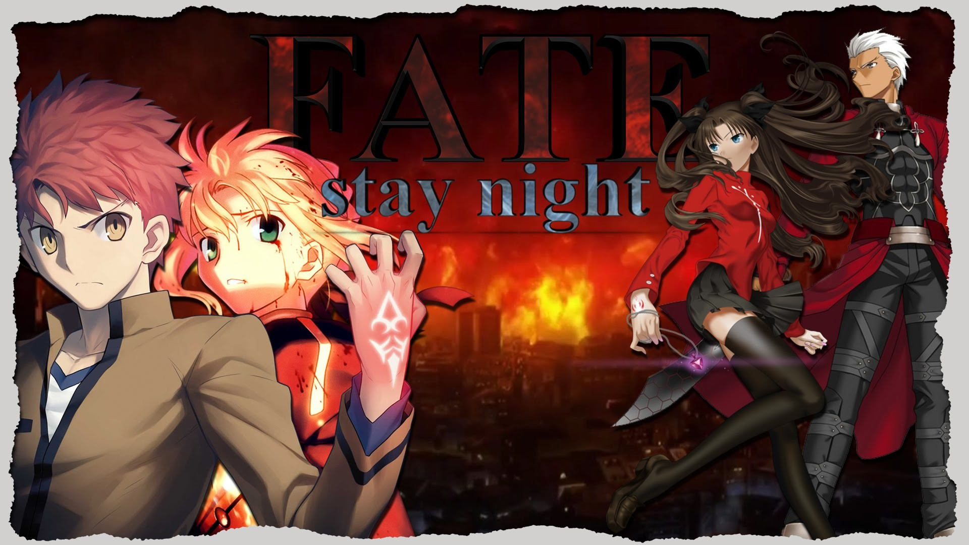 ☆ [AMV] ☆ Fate/stay night: Unlimited Blade Works – Crossing Fates [Part 1]  – YouTube