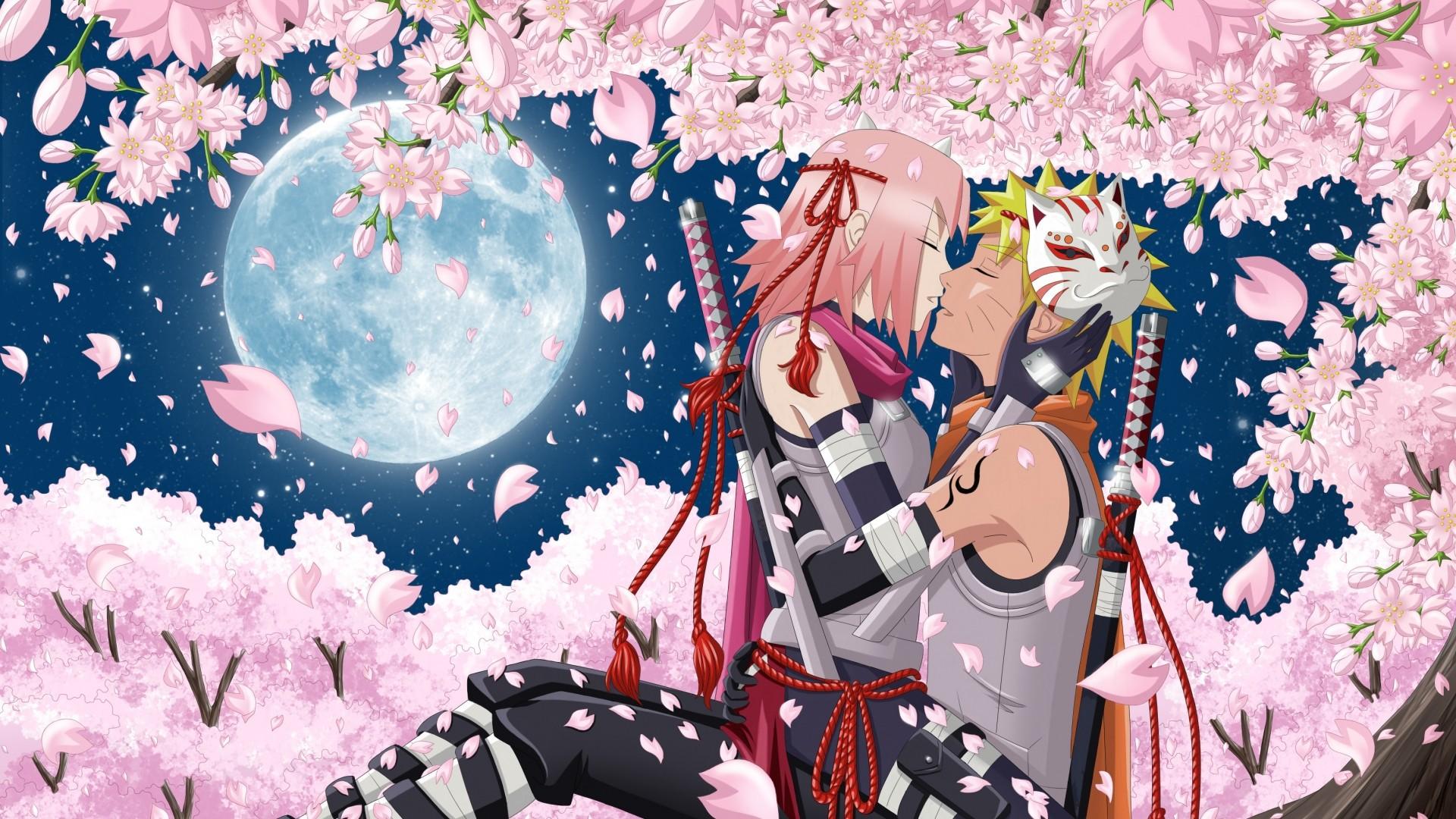 Wallpaper art, hanabi-rin, anime, naruto, uzumaki naruto, haruno