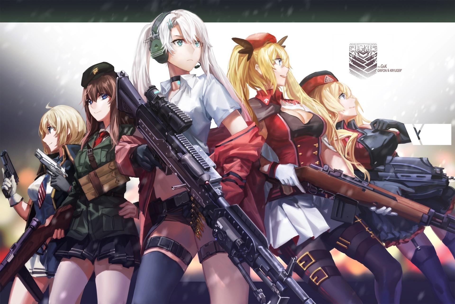 Anime Girls Frontline Anime Gun Wallpaper