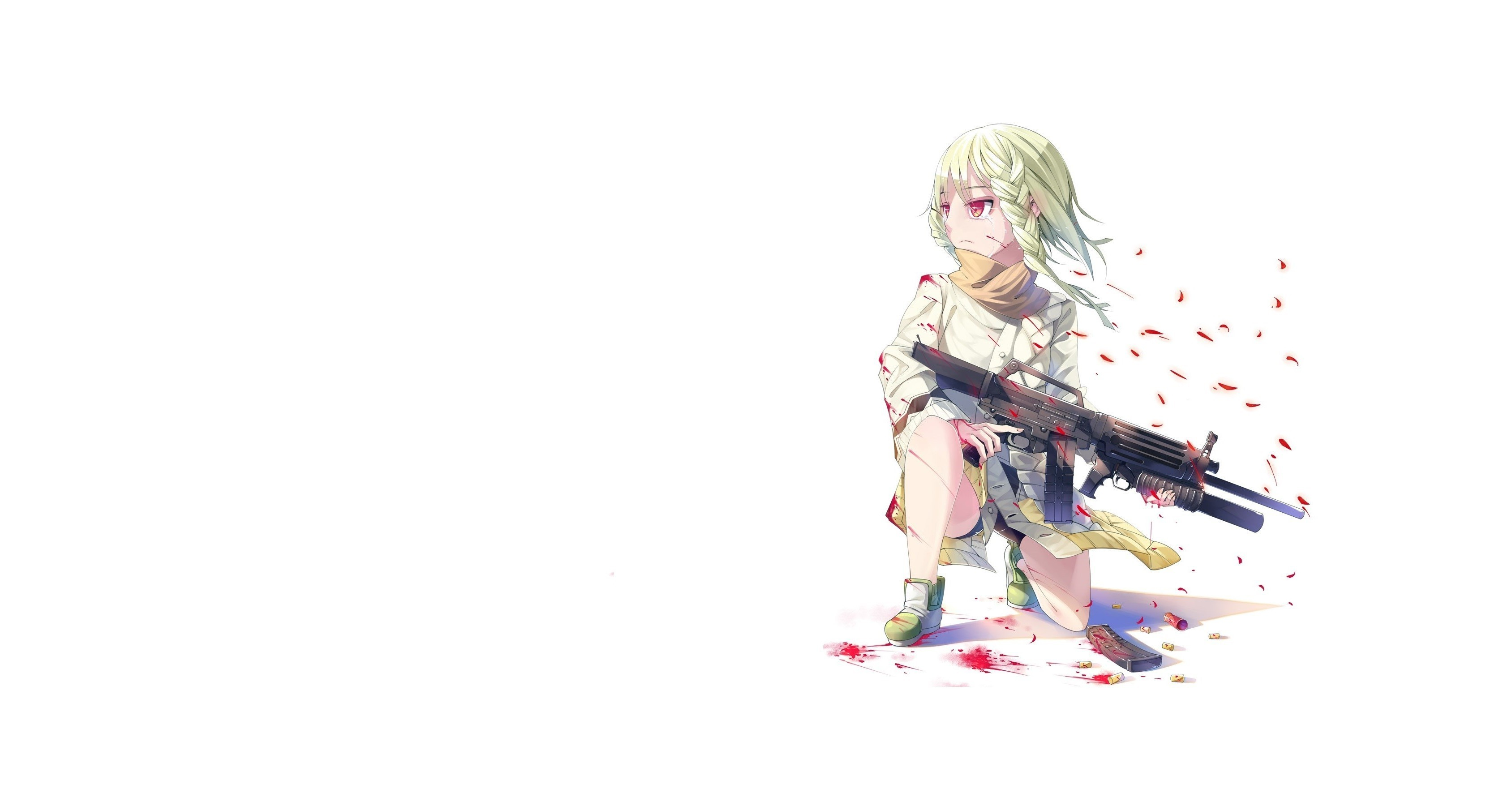 anime Girls, Anime, Women With Guns Wallpapers HD / Desktop and Mobile  Backgrounds
