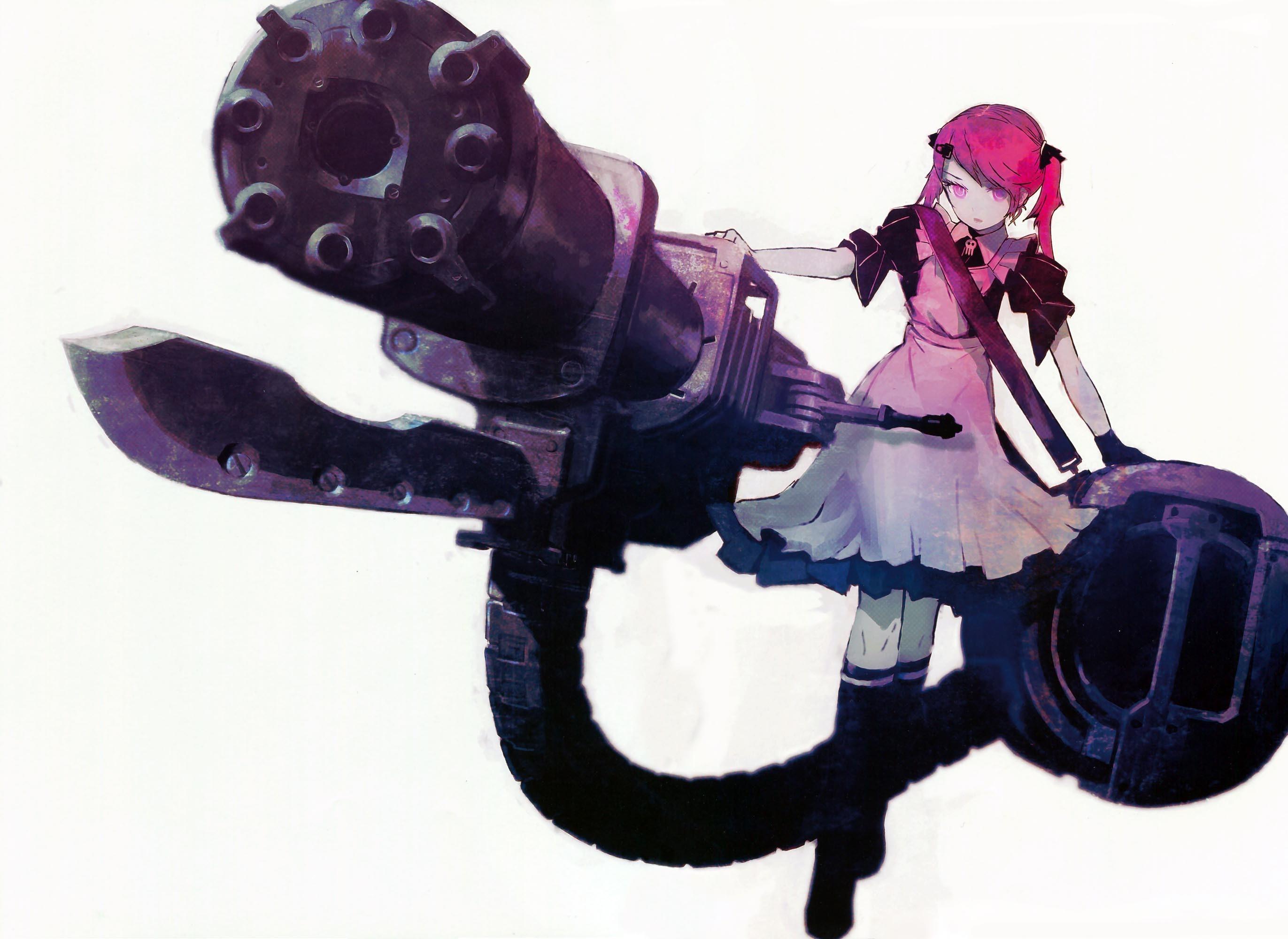 Anime Girl with Gun