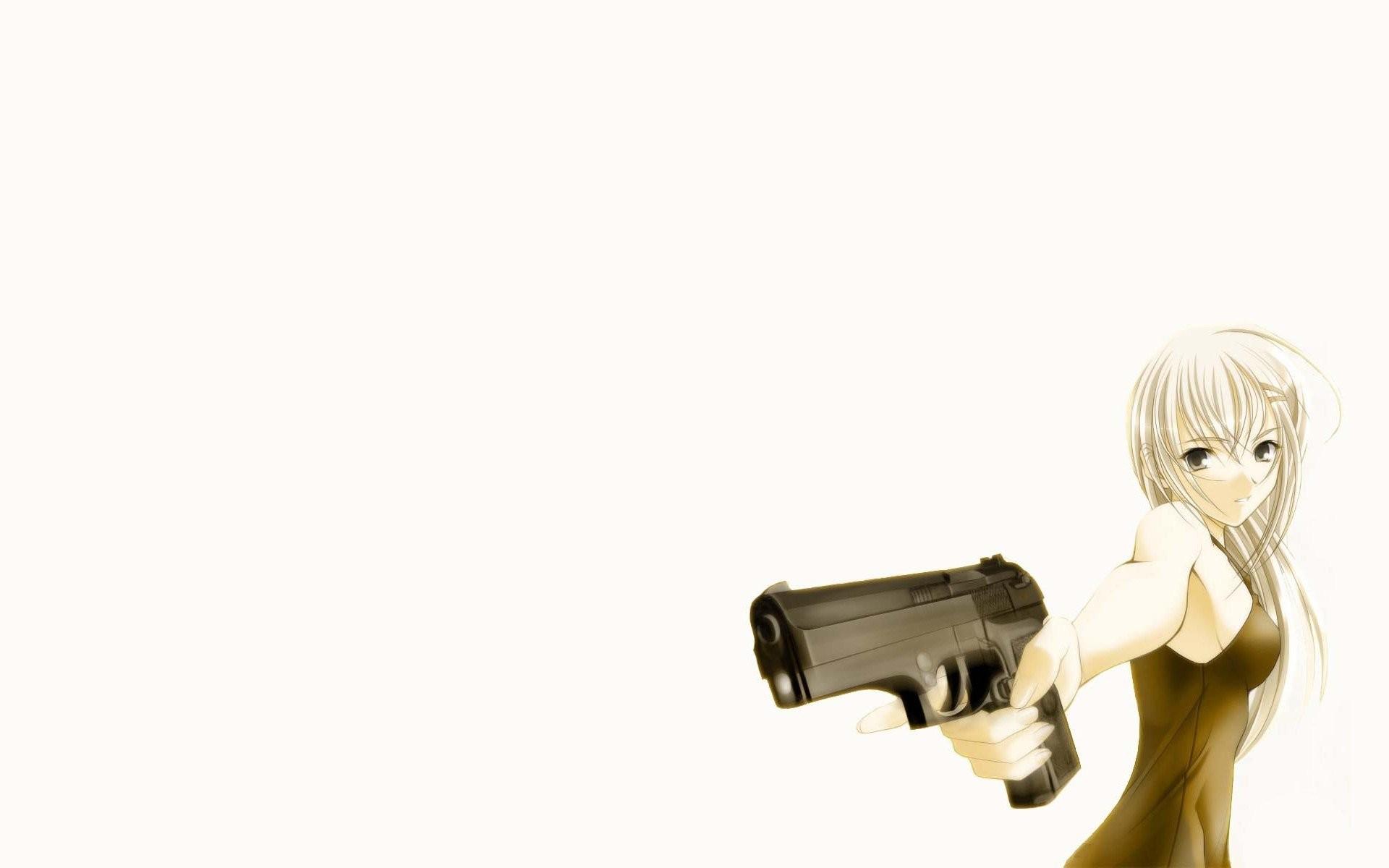 Anime Girl With Gun 689208