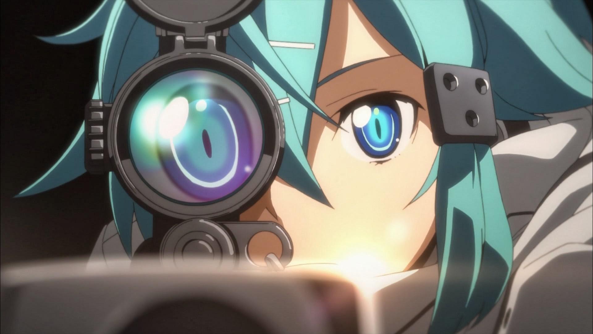 SAO 2 Gun Gale Online Sinon 6o HD Wallpaper