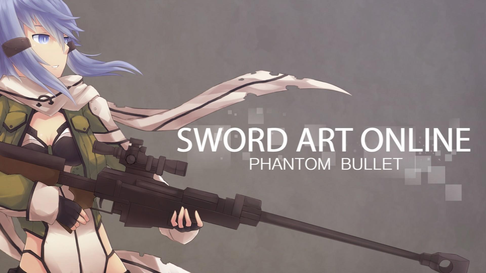 phantom bullet gun gale online anime 2014 SAO 2 GGO hd wallpaper .
