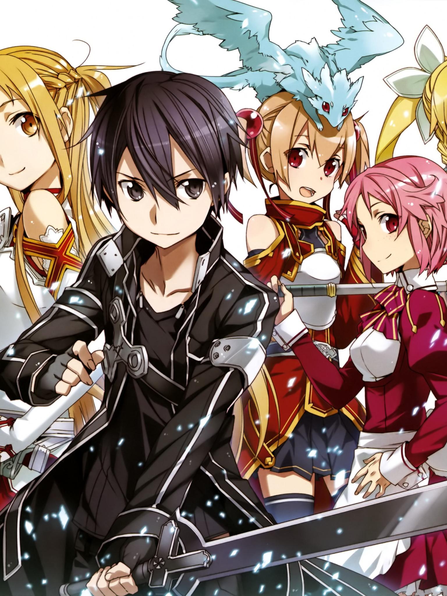 HD Wallpaper Sword Art Online 2 Asuna Kirito Sinon