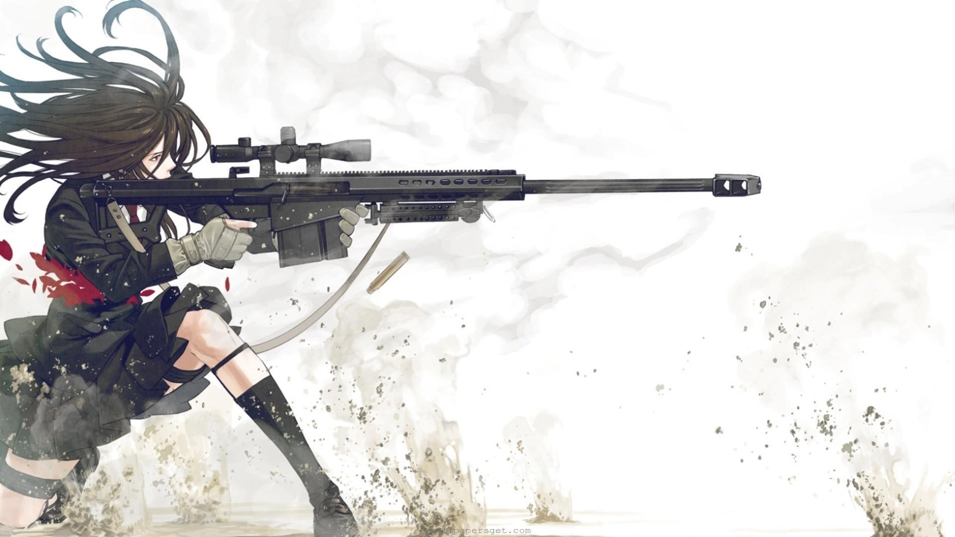Anime Gun Wallpaper Hd Desktop 10 HD Wallpapers