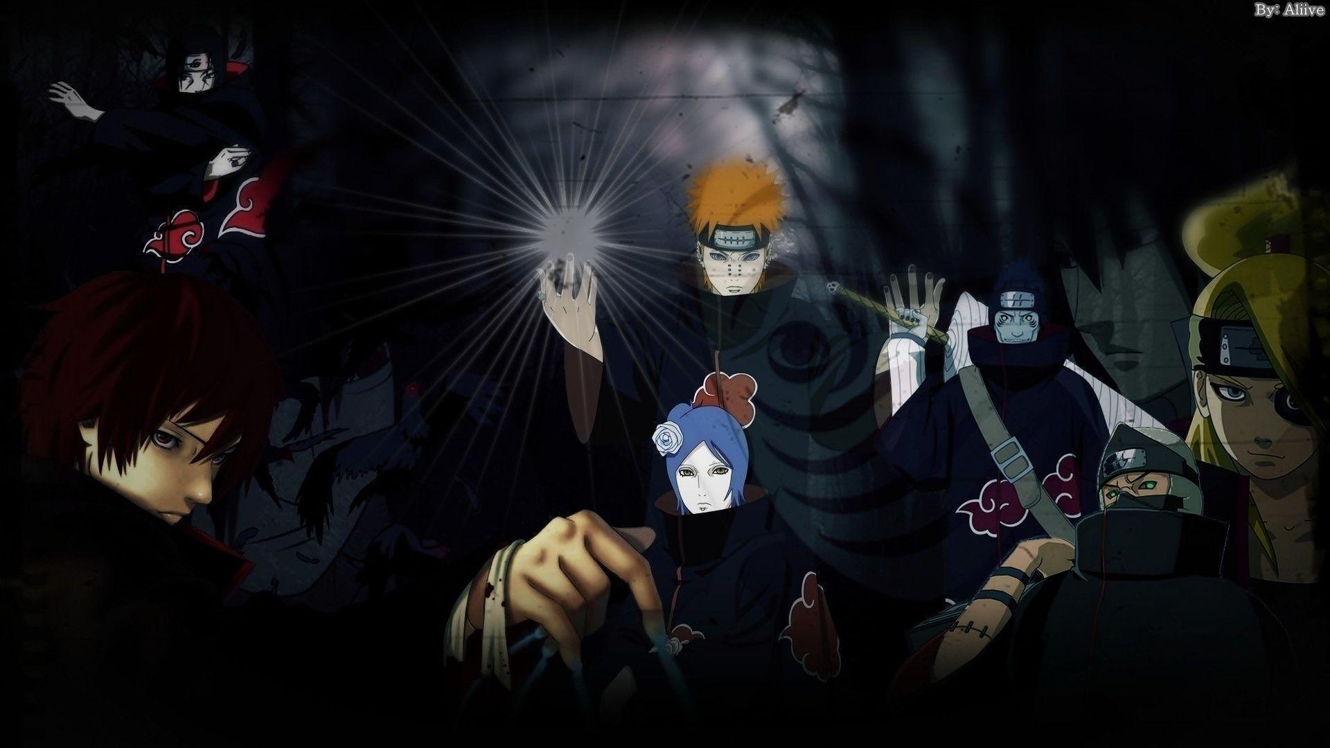 Naruto Shippuden Akatsuki HD Wallpaper Anime – Forkyu.