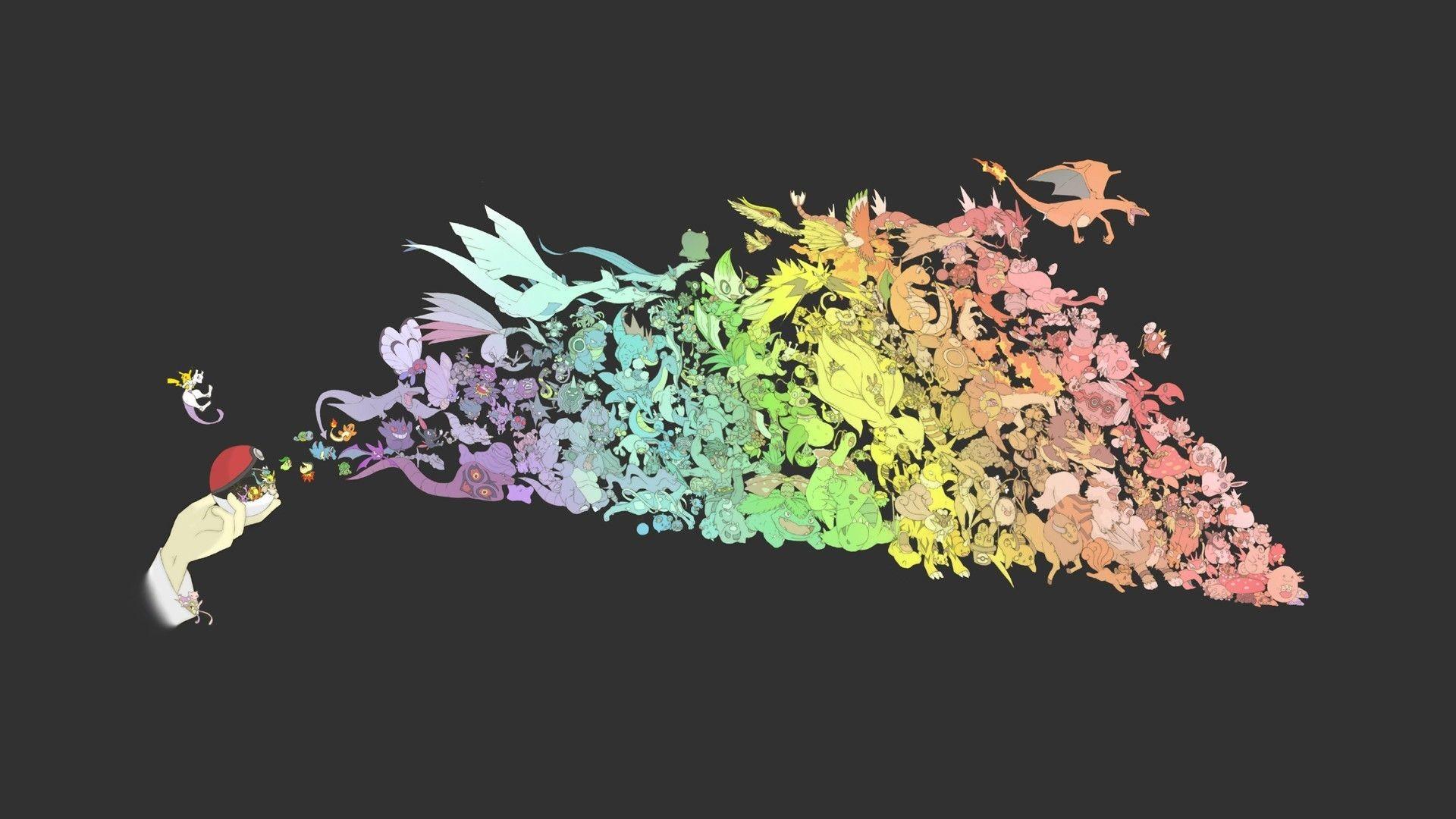 All Pokemon HD Wallpaper PixelsTalk Net