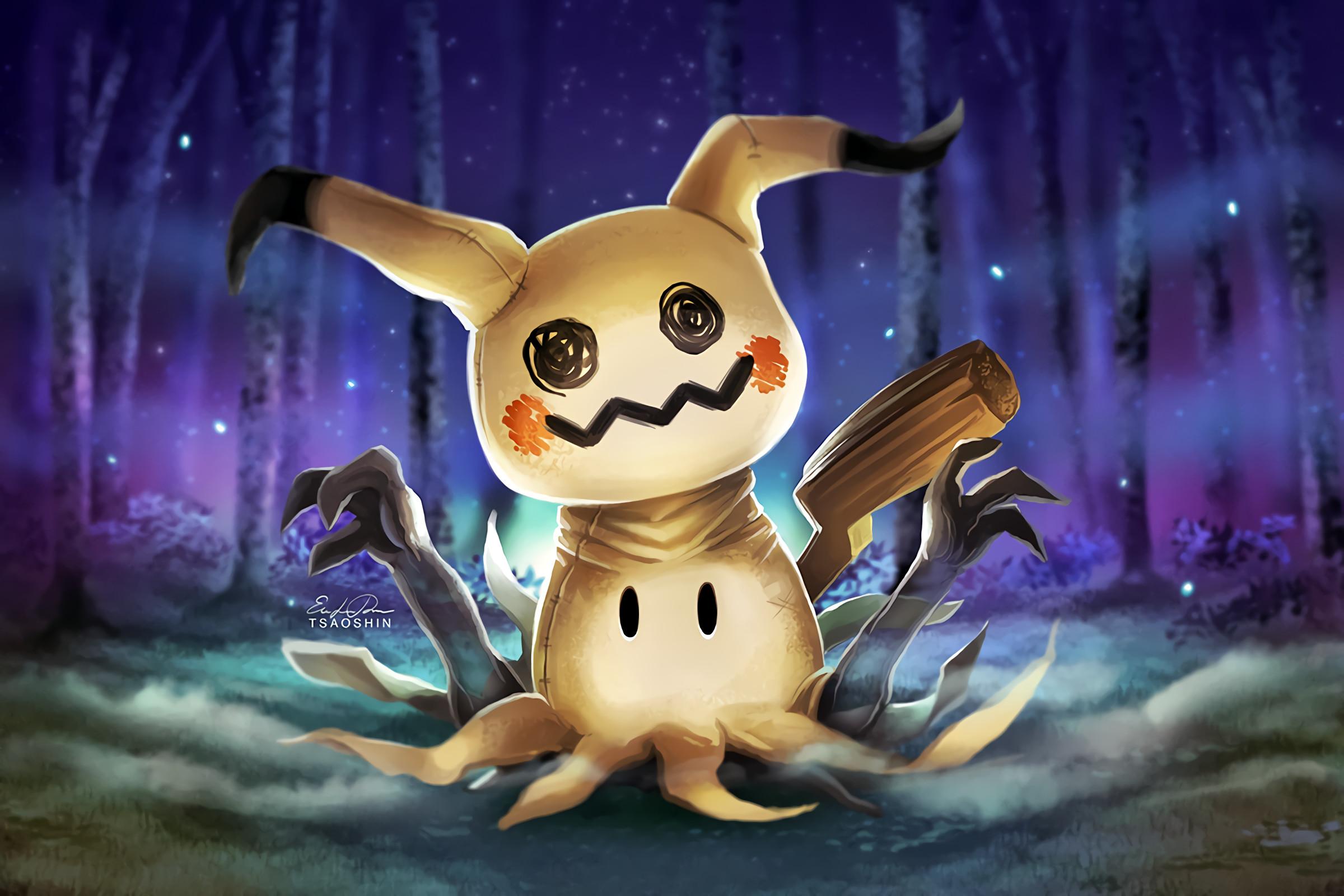Video Game РPok̩mon Sun and Moon Mimikkyu (Pokemon) Pok̩mon Wallpaper