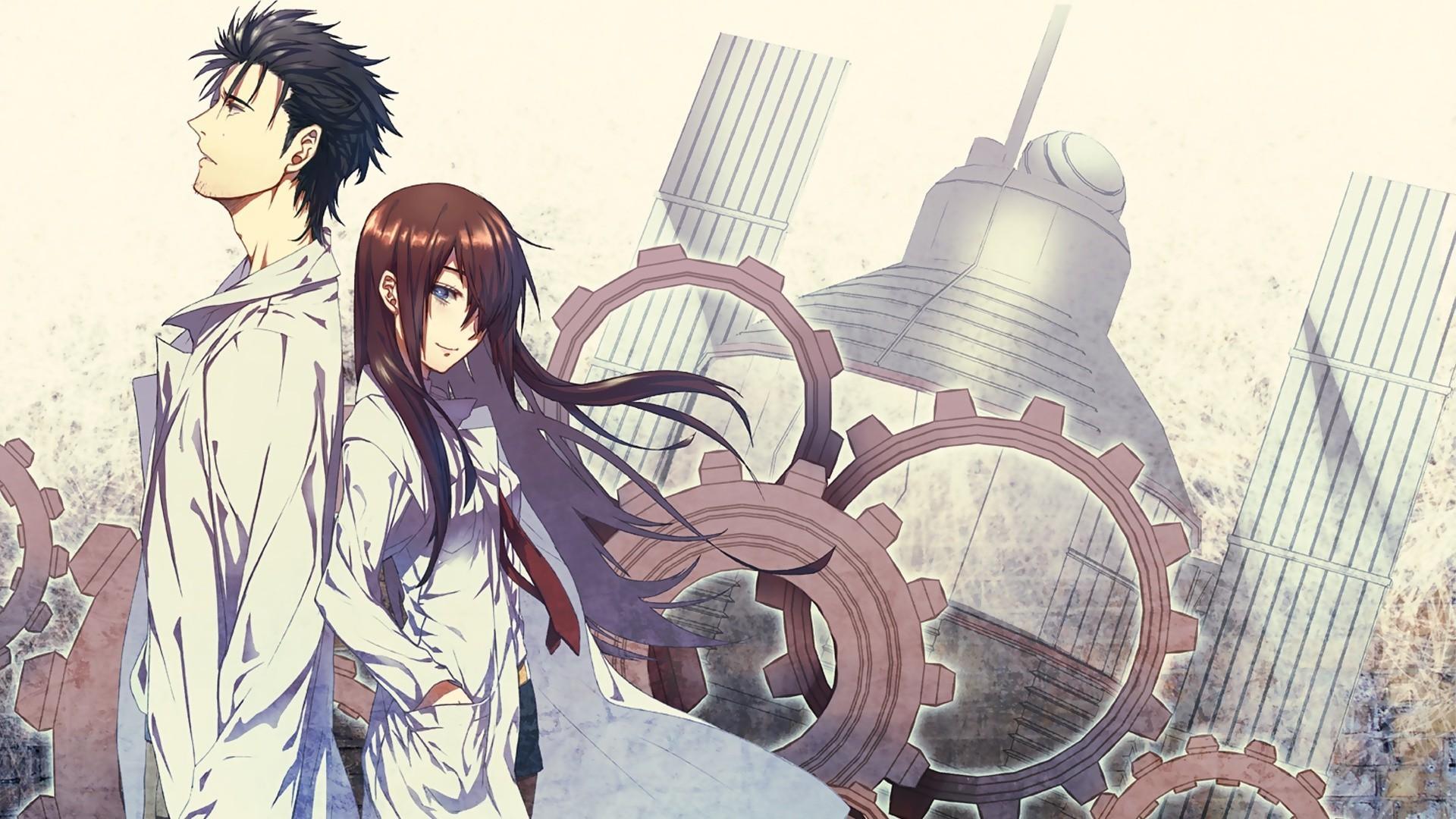 Steins;Gate, Okabe Rintarou, Makise Kurisu, Anime Wallpapers HD / Desktop  and Mobile Backgrounds