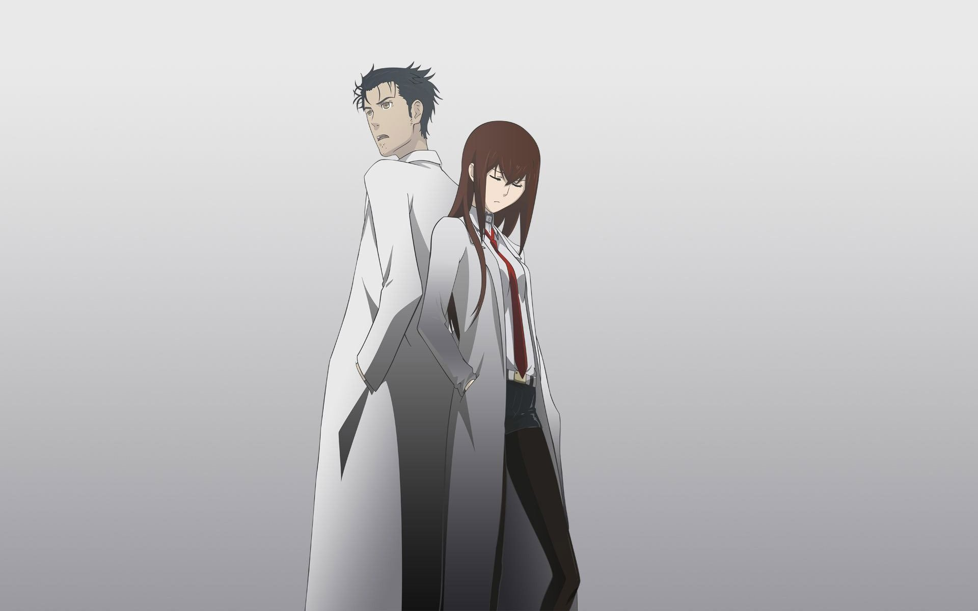 Rintarou Okabe And Kurisu Makise – SteinsGate 708431
