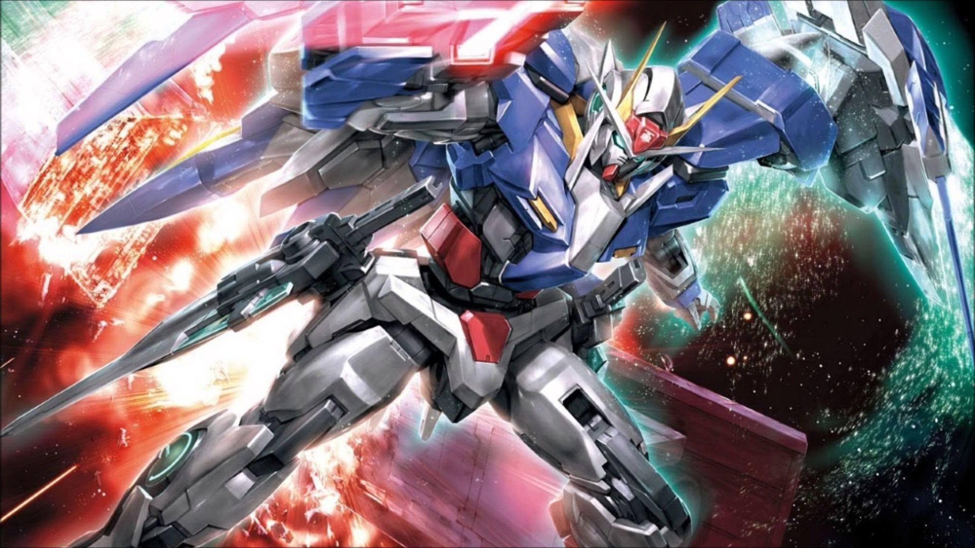 Images For > Gundam 00 Raiser Wallpaper