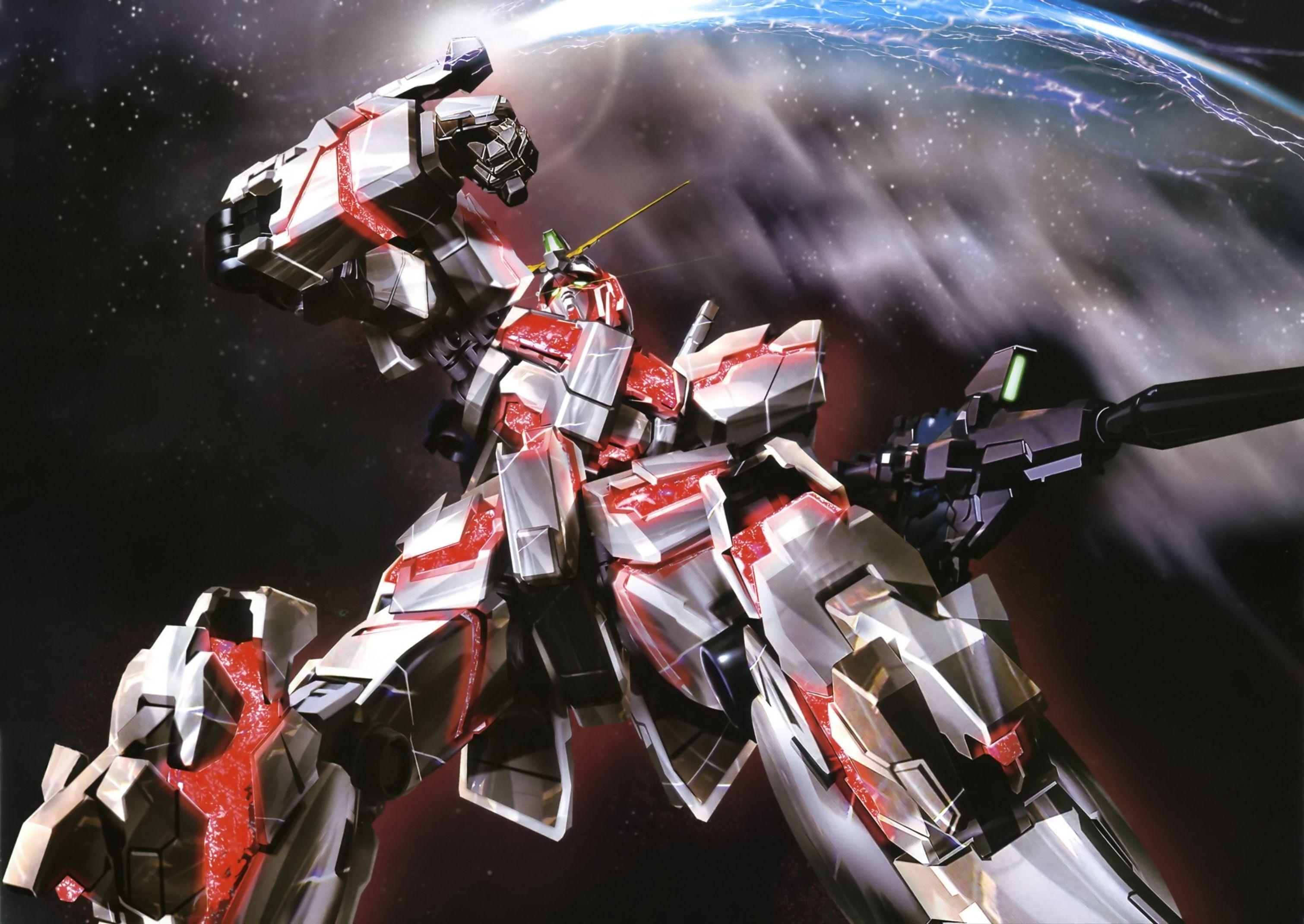 Wallpapers For > Gundam Unicorn Wallpaper 1920×1080