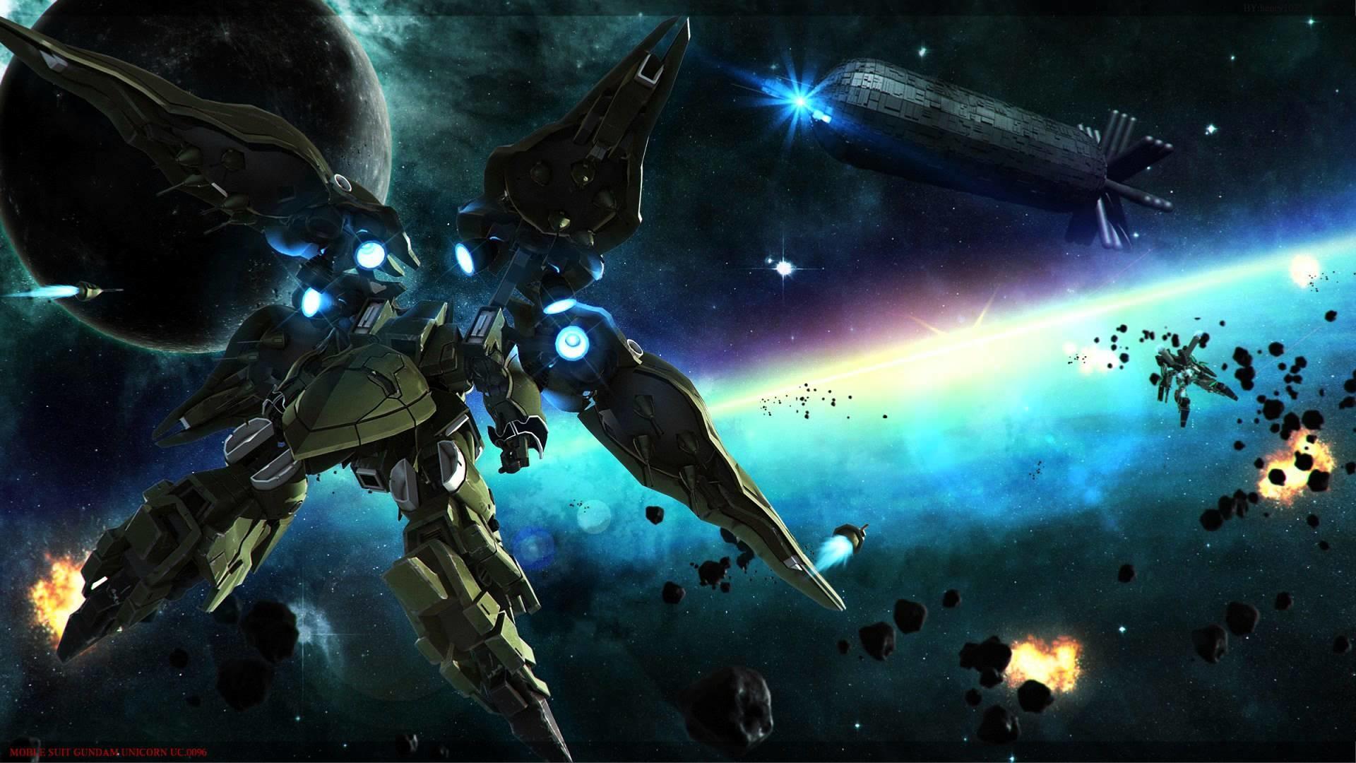REC Mix – Gundam Unicorn OST 2 – 15 (High Quality 1080p .