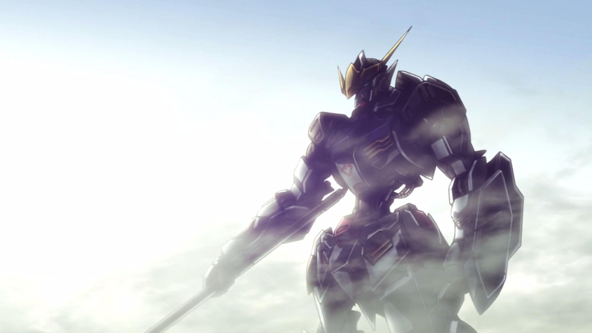Gundam Barbatos Cool Pose Wallpaper Wallpaper