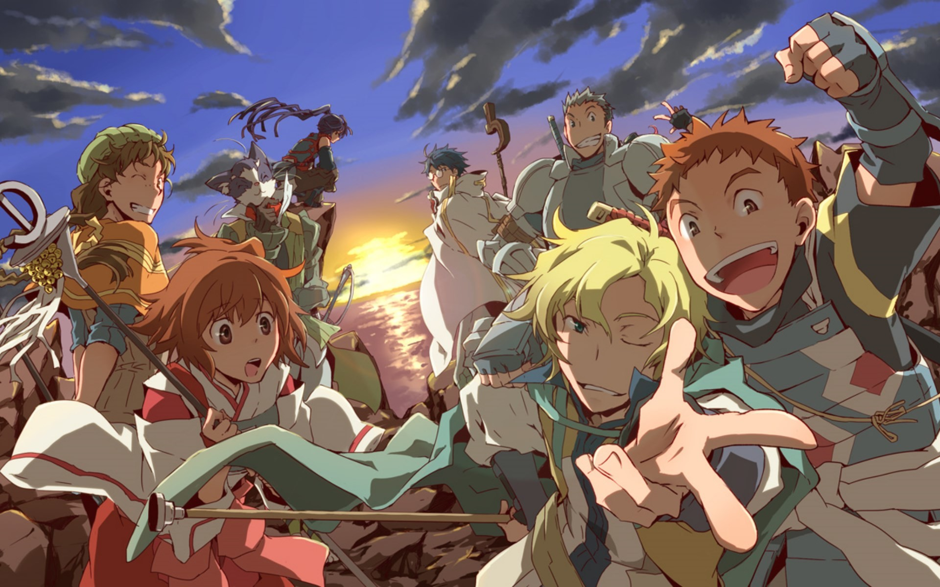 Watch Log Horizon 2 episodes online in high quality with professional  English subtitles on AnimeShow.