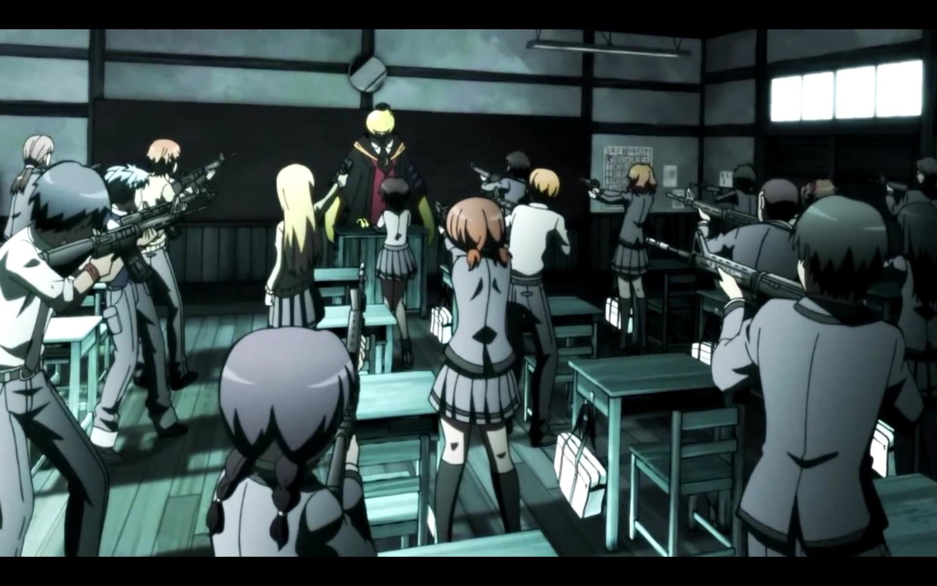 Assassination Classroom Episode 1 Review: KORO-SENSEI= UNSTOPPABLE!! –  YouTube