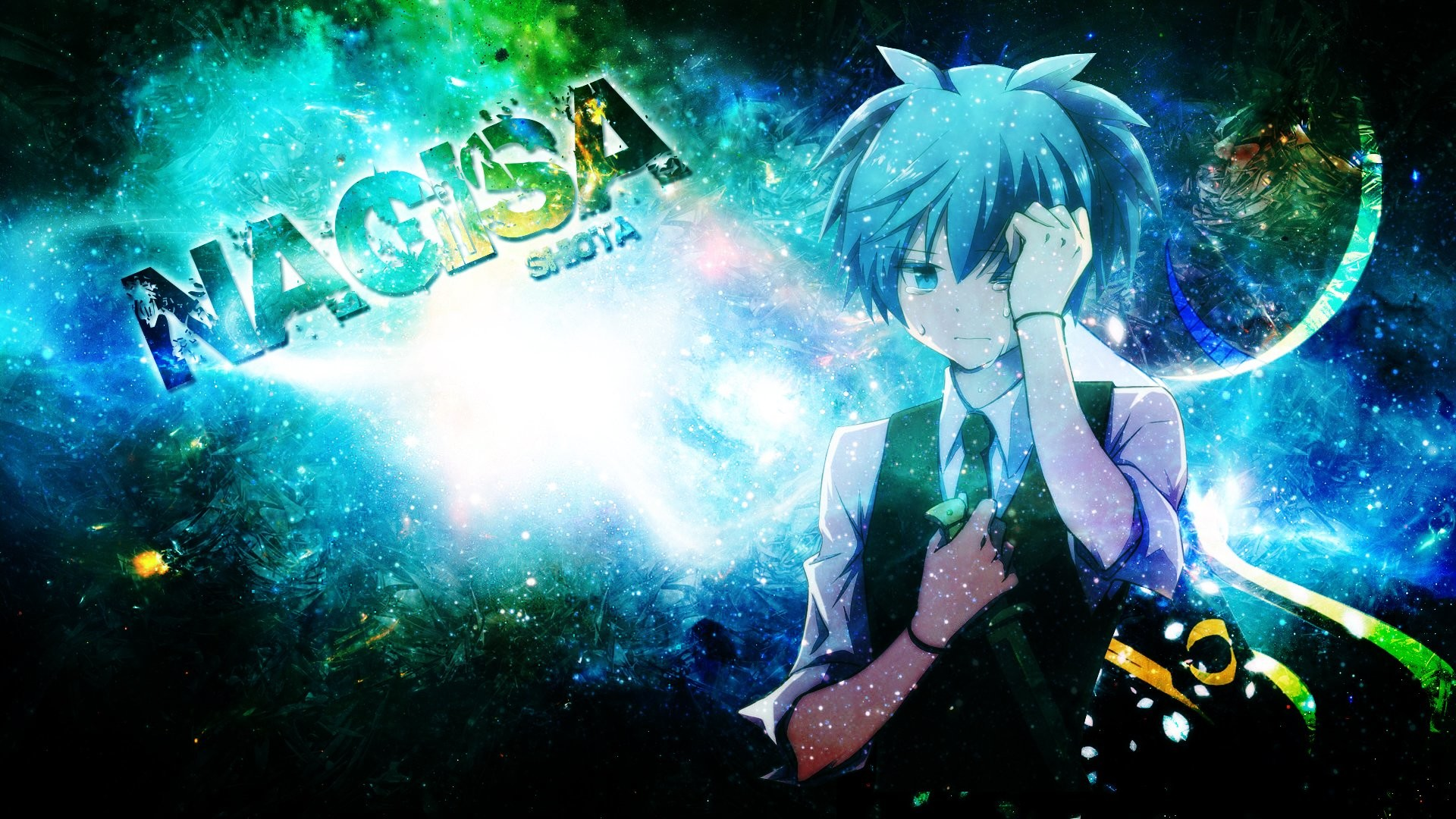 Anime – Assassination Classroom Nagisa Shiota Bakgrund