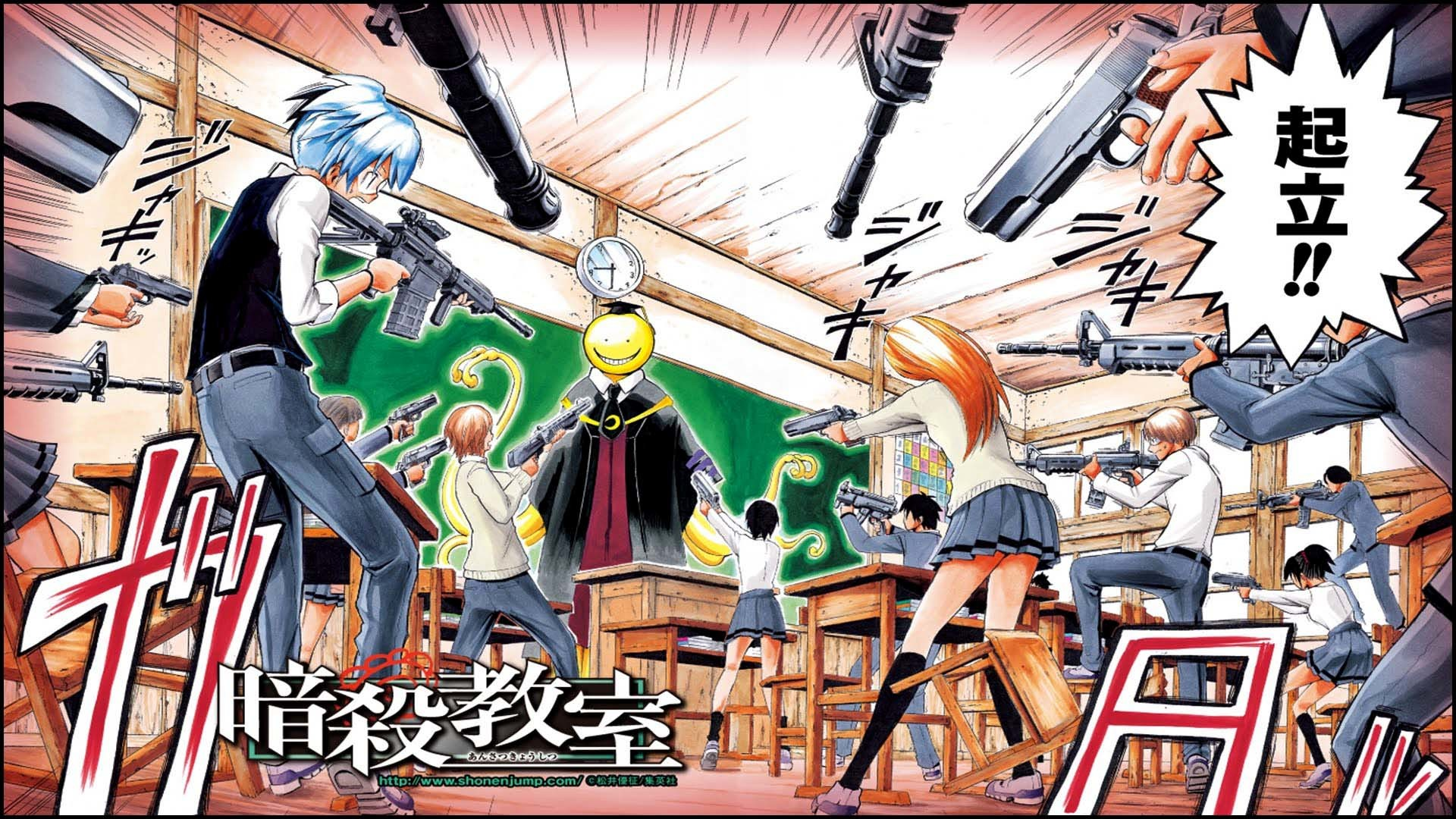 Ansatsu Kyoushitsu Assasination Classroom Anime Wallpaper