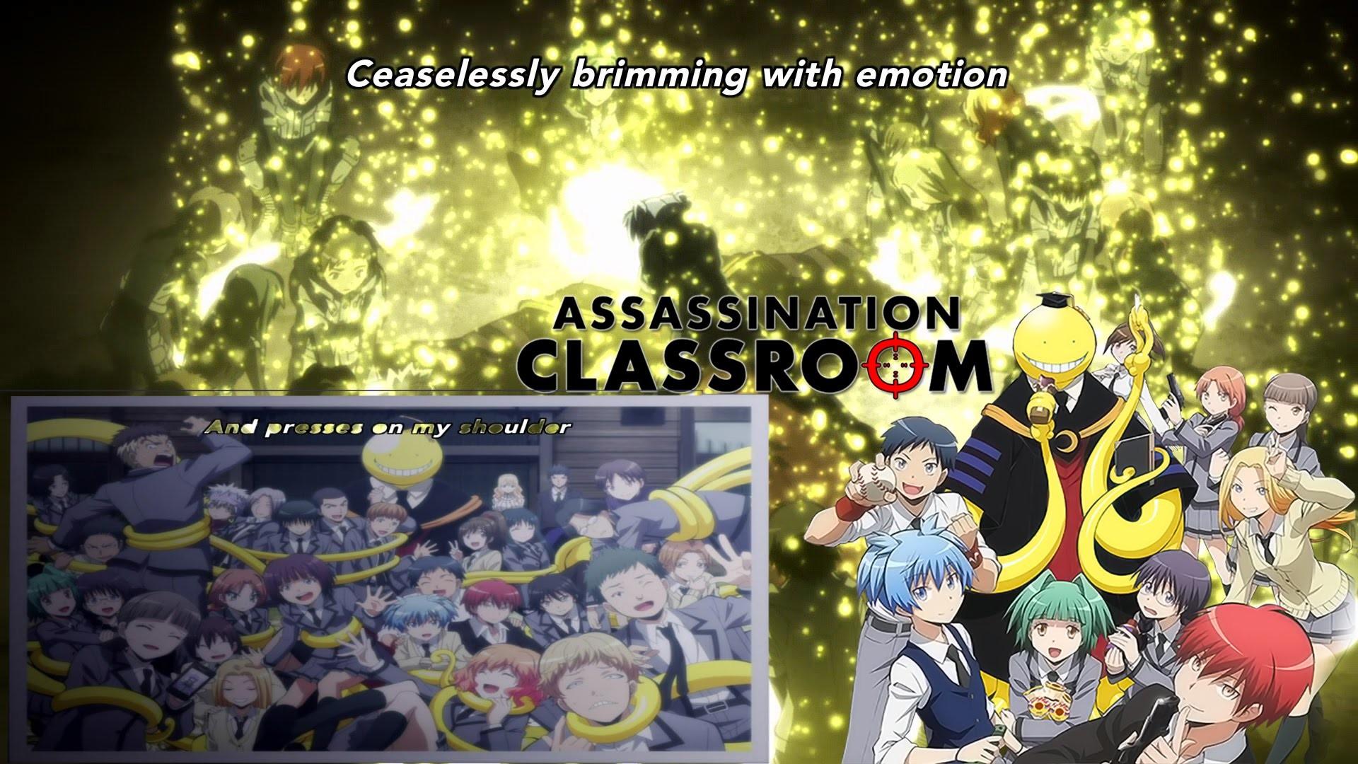 Ansatsu Kyoushitsu/Assassination classroom – Tabidachi no Uta – Class 3E –  KORO SENSEI DIE – YouTube