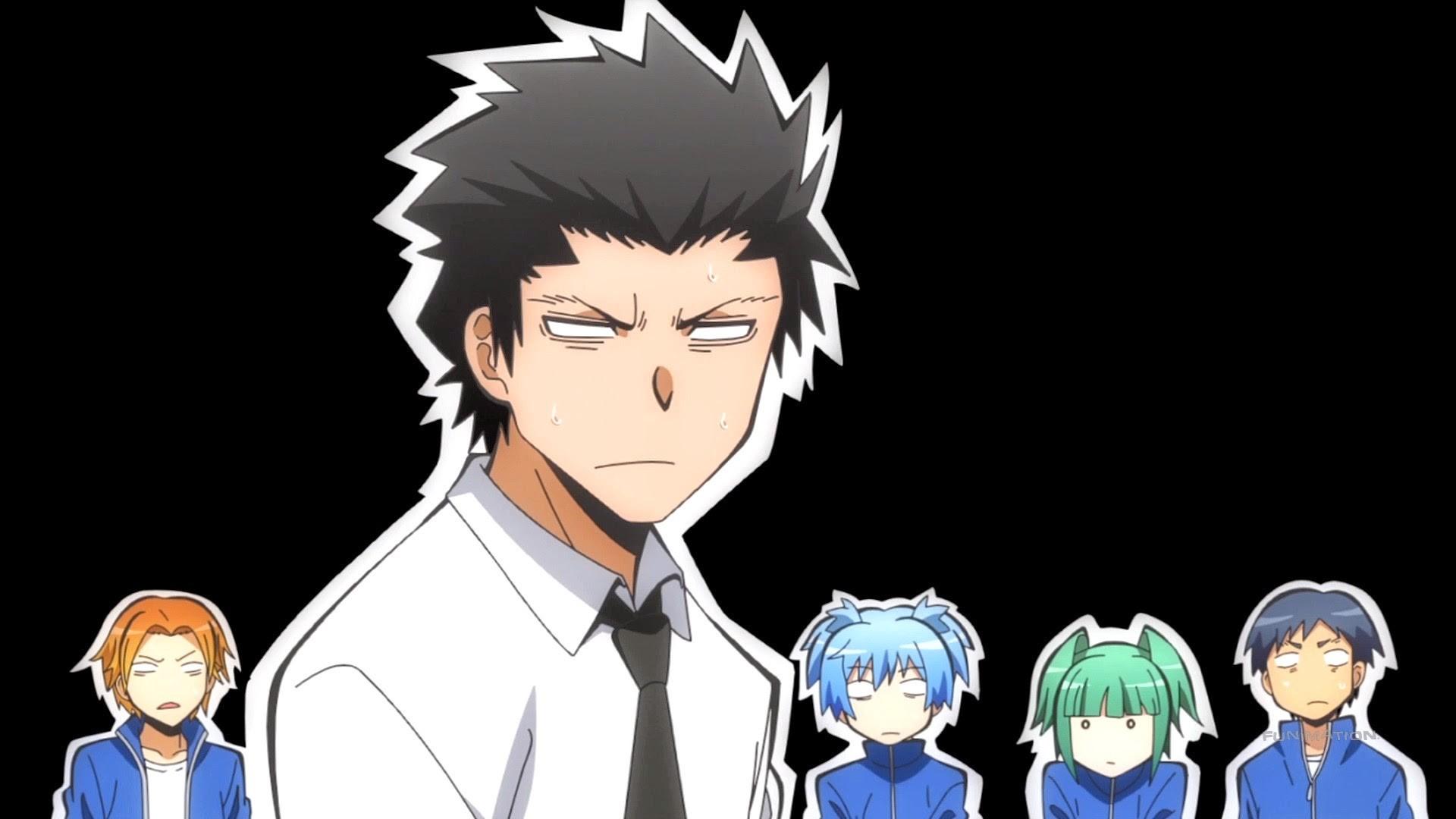 Karasuma-sensei and E-Class – Assassination Classroom