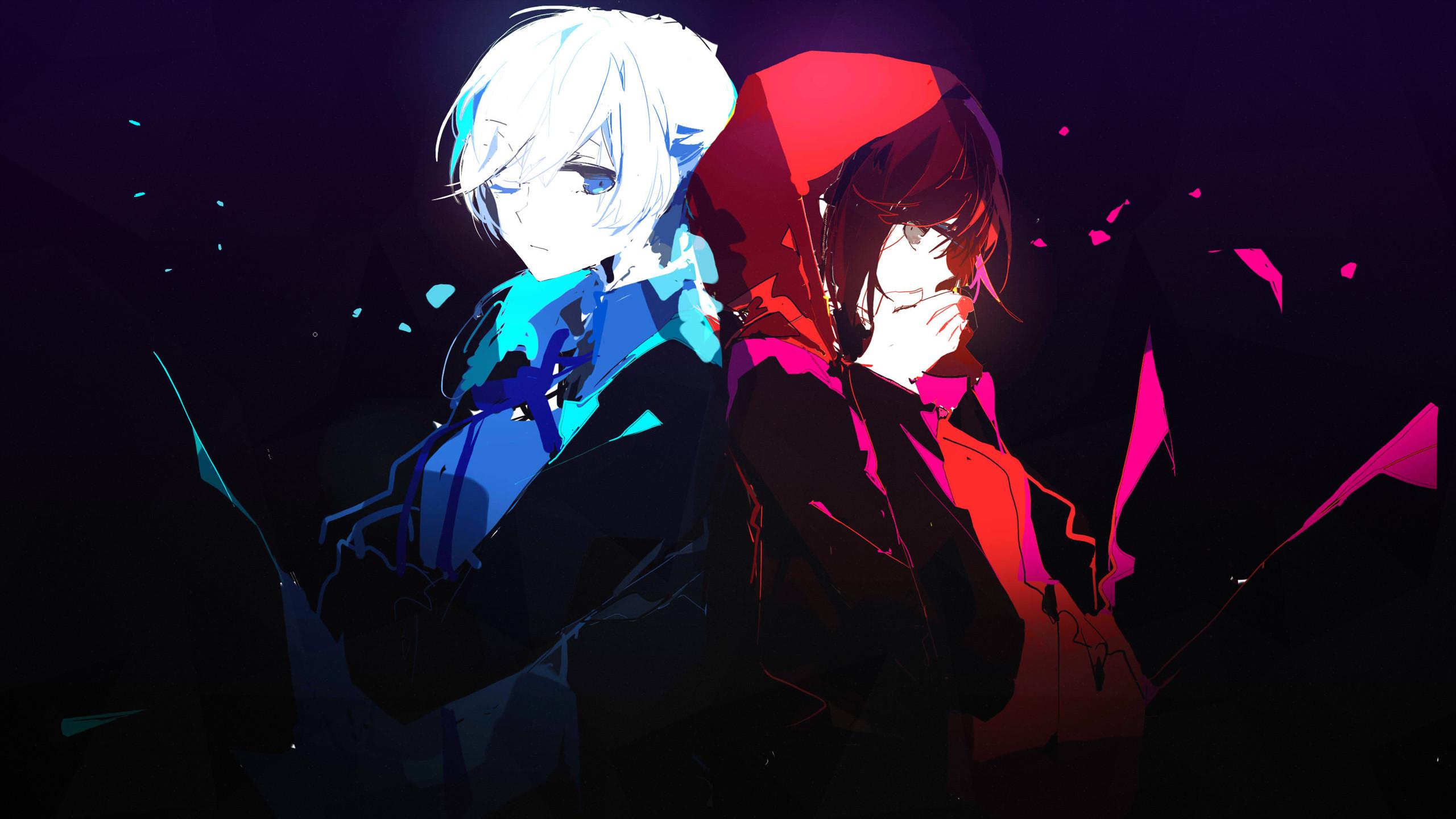 Anime – RWBY Ruby Rose (RWBY) Weiss Schnee Wallpaper
