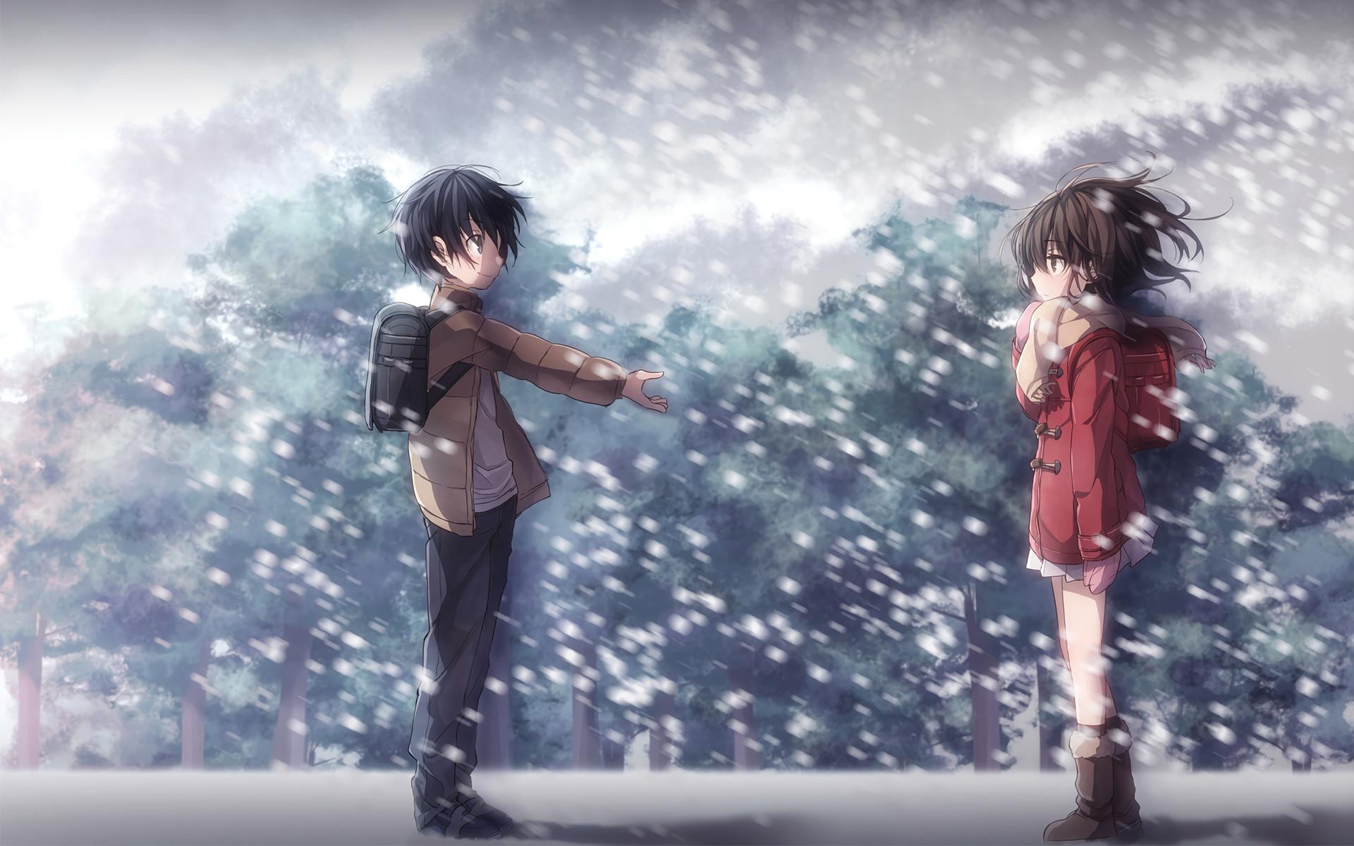 Anime – ERASED Boku Dake Ga Inai Machi Satoru Fujinuma Kayo Hinazuki  Wallpaper