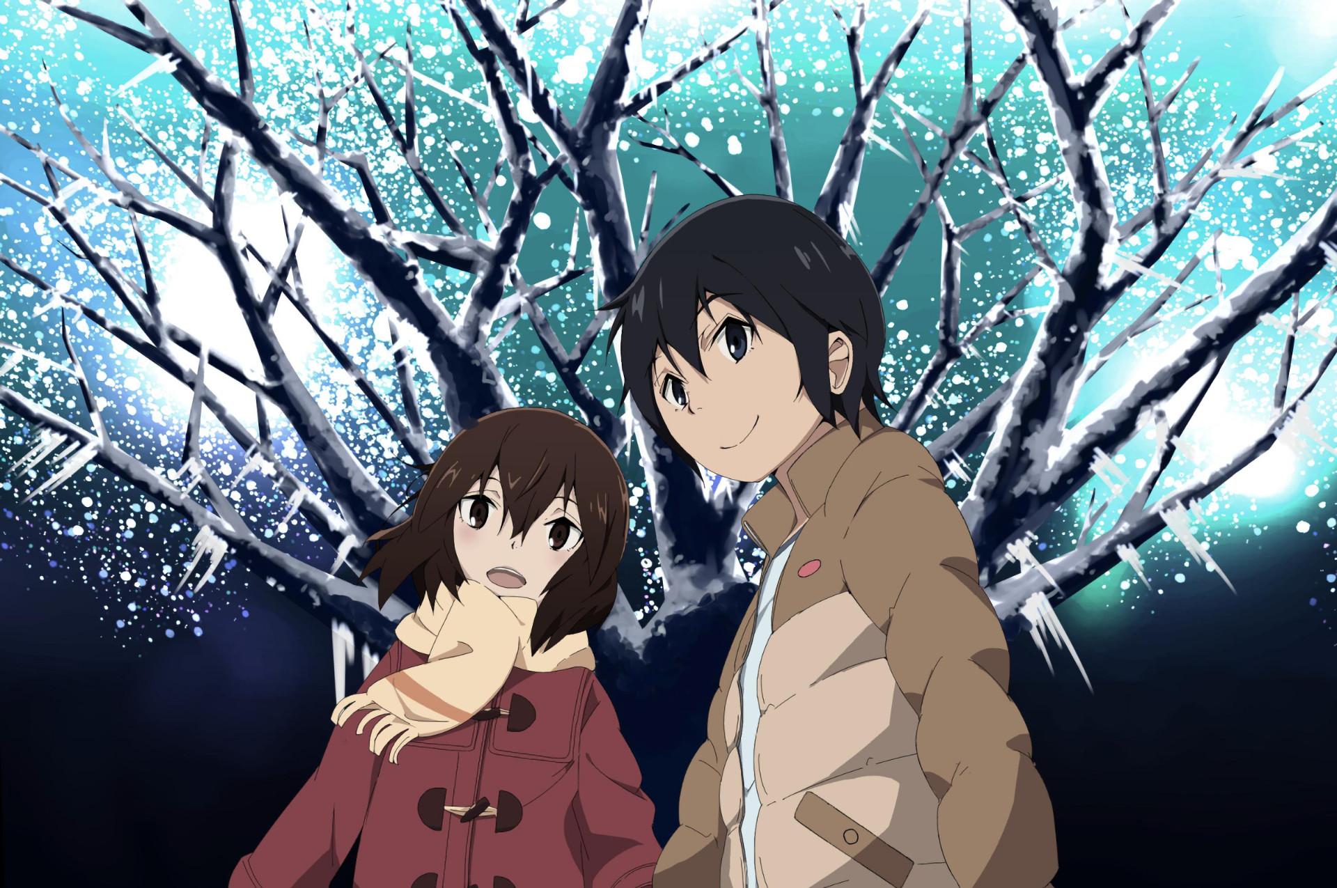Anime – ERASED Kayo Hinazuki Satoru Fujinuma Wallpaper