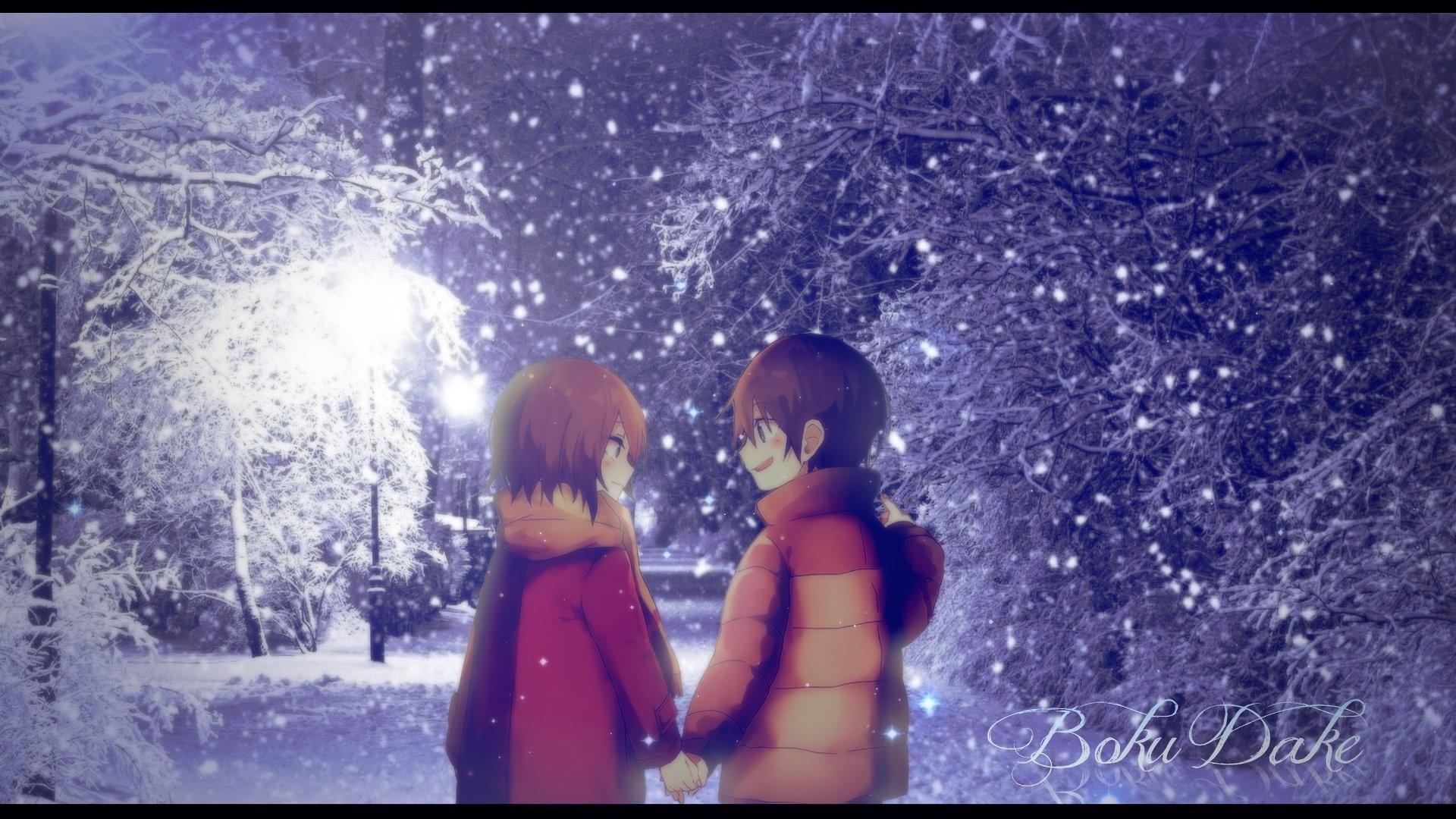 Anime – ERASED Satoru Fujinuma Kayo Hinazuki Wallpaper