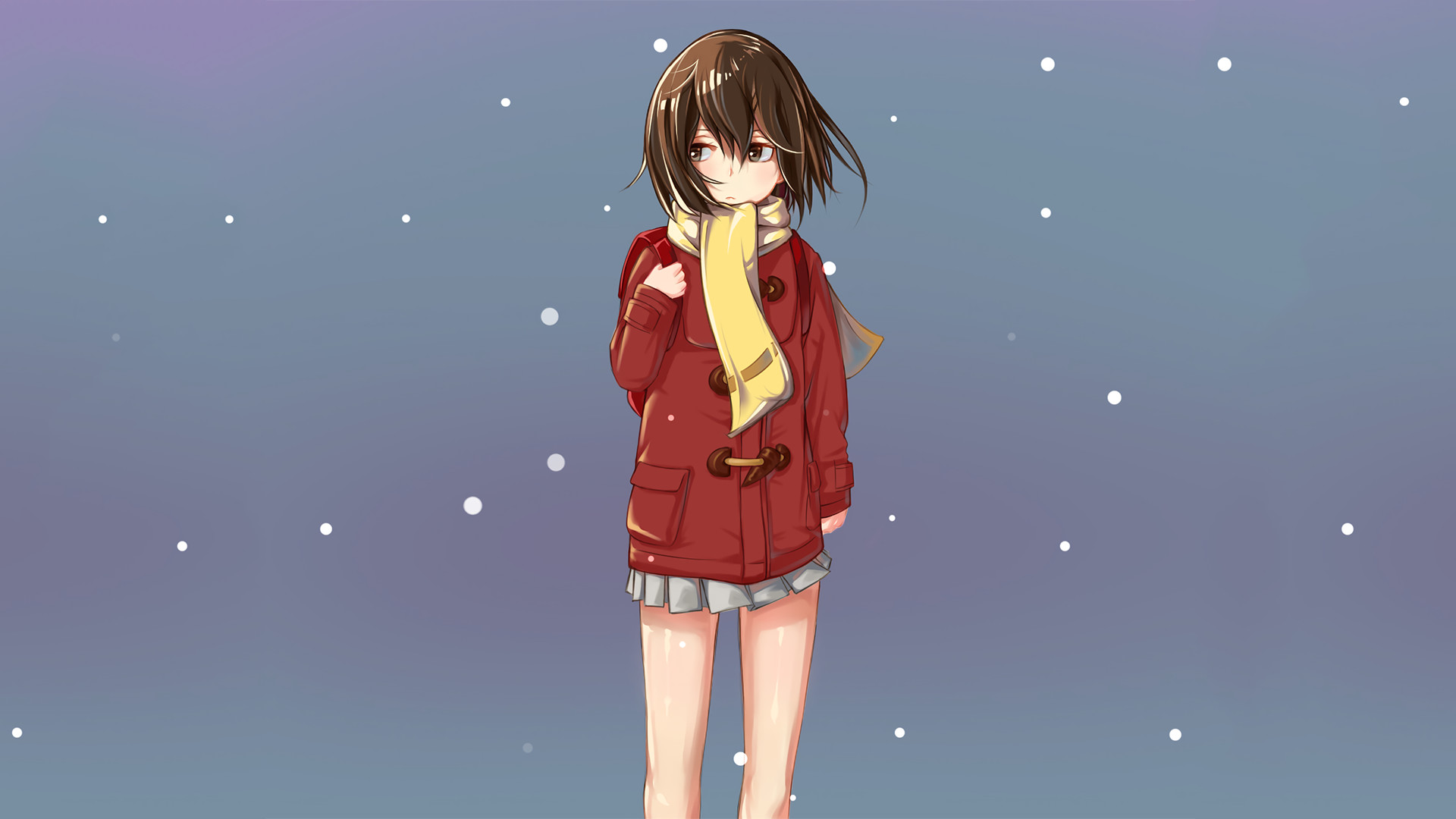 Anime – ERASED Boku Dake Ga Inai Machi Kayo Hinazuki Wallpaper