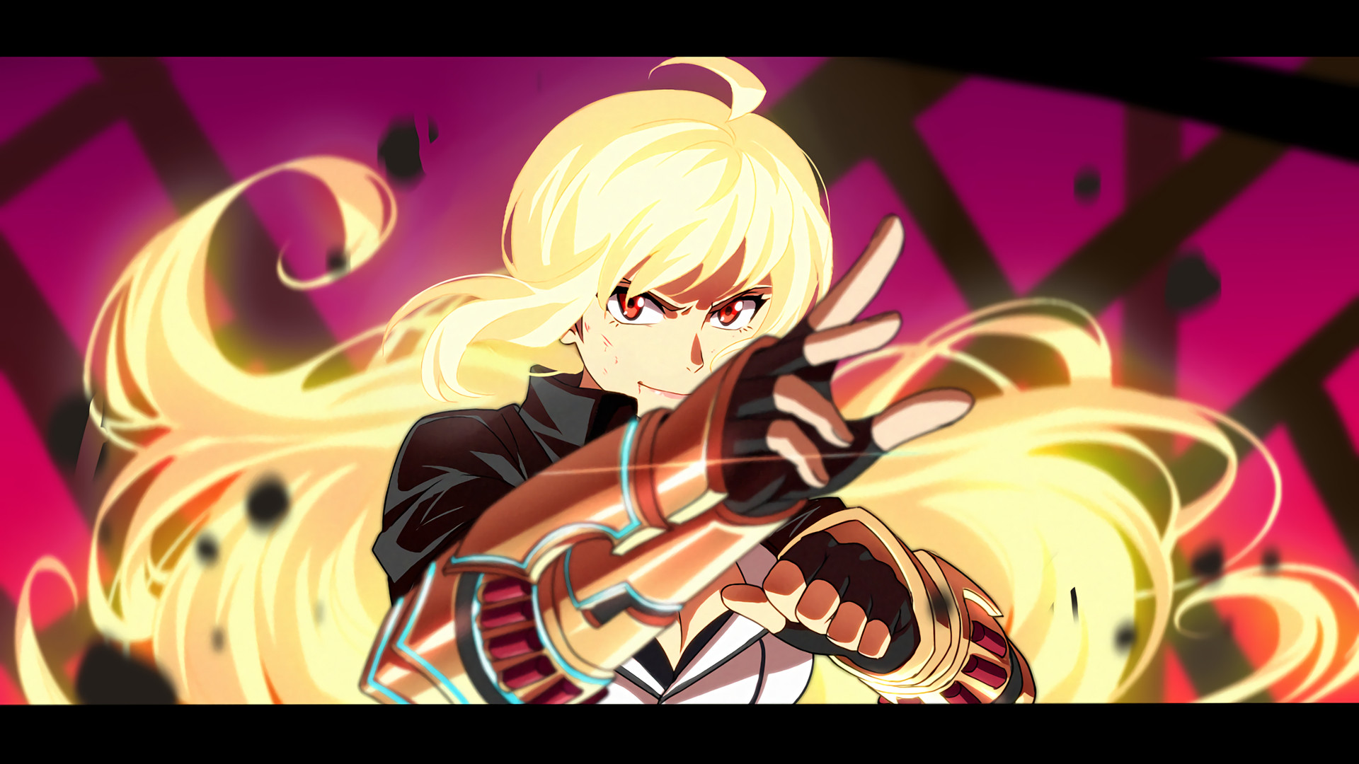 Anime – RWBY Yang Xiao Long Hunter Outfit (RWBY) Bakgrund