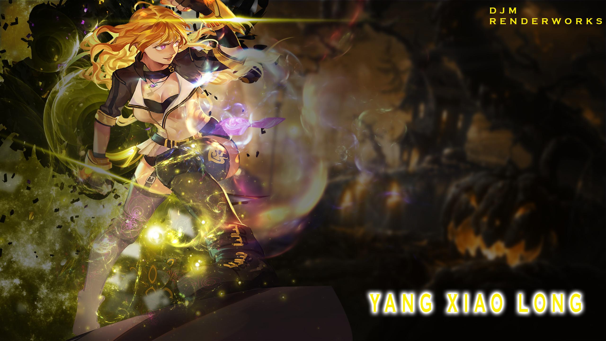 … Wallpaper] Yang Xiao long -RWBY- by MekakuActors