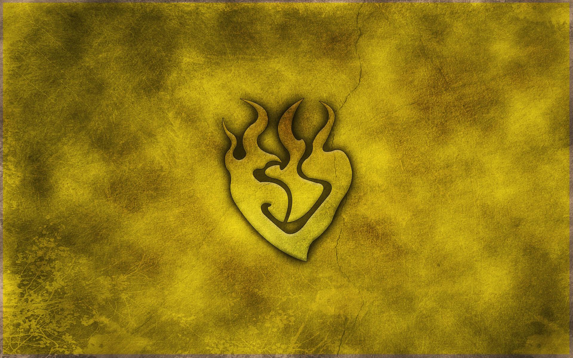 … RWBY yang xiao long symbol wallpaper by crypticspider